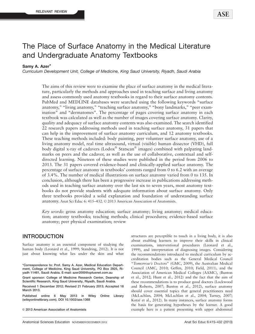 Botox Letter Of Medical Necessity Template - Pdf the Place Of Surface Anatomy In the