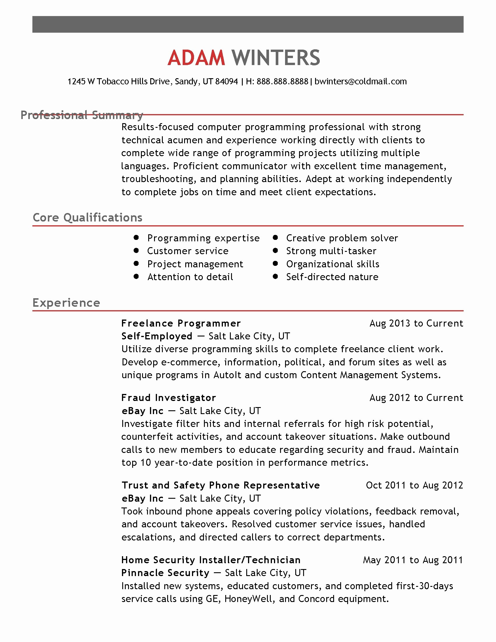 Rfp Cover Letter Template Samples