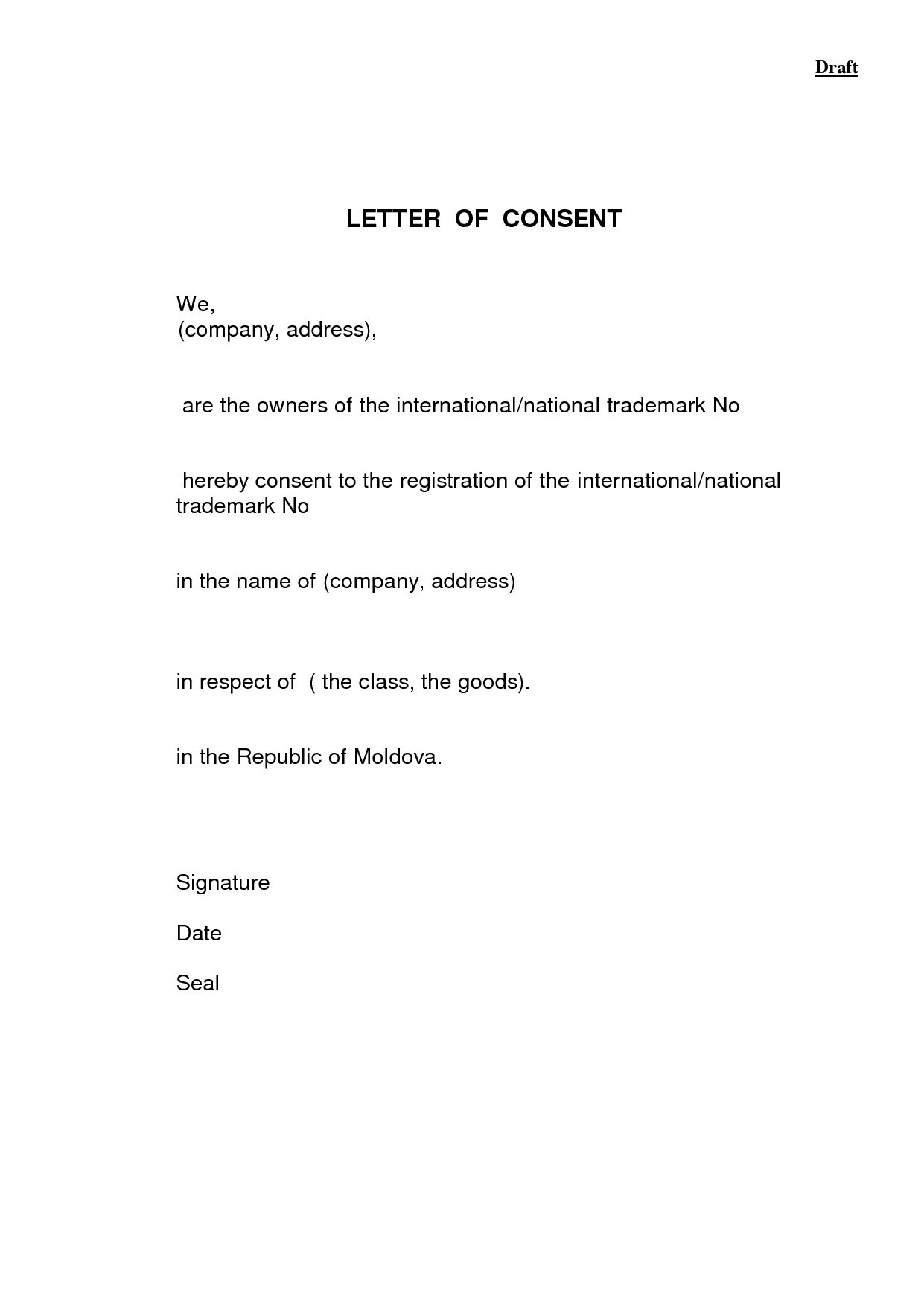 Parental Consent Letter Template - Permission Letter format for College Fresh Field Trip Permission