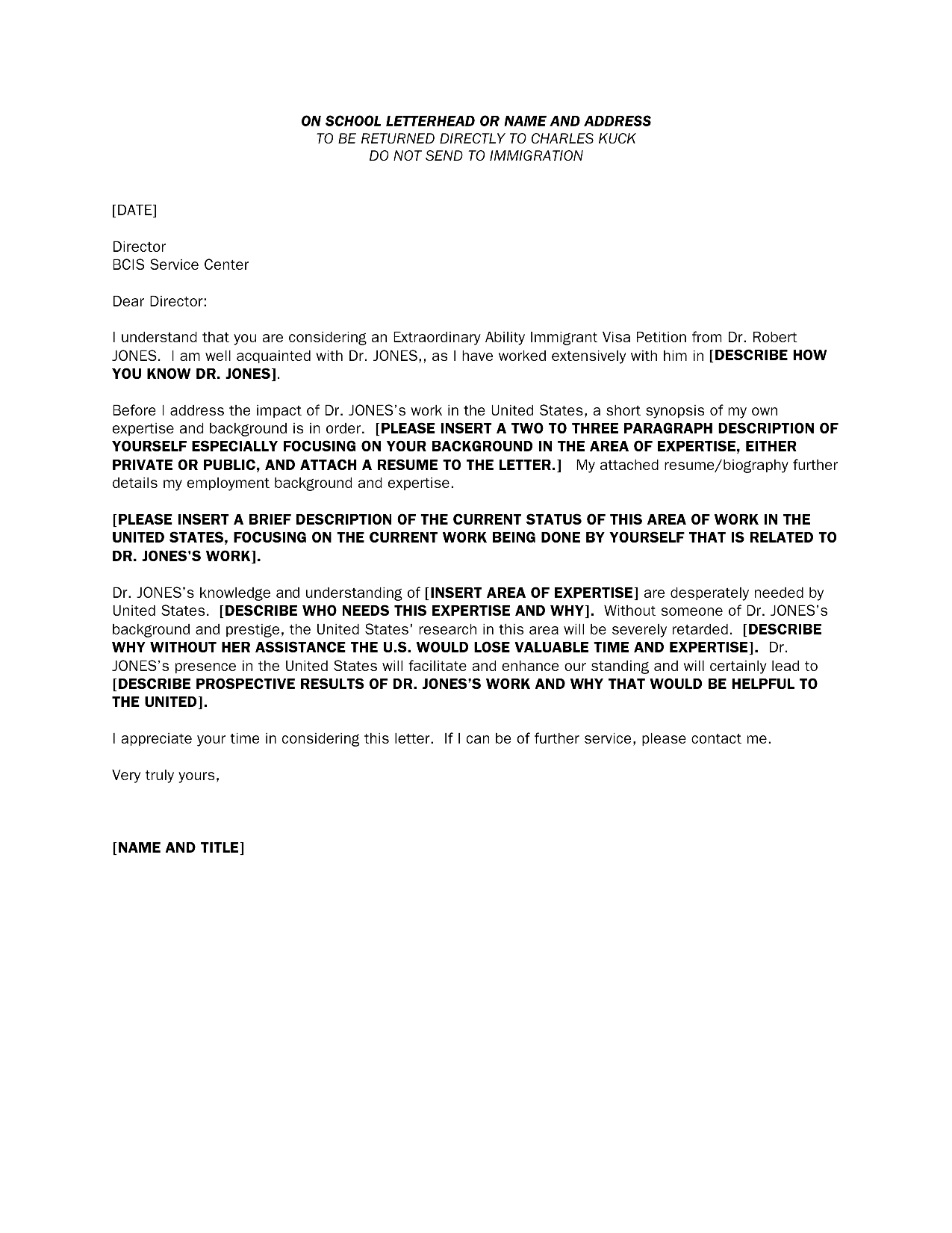 Immigration Recommendation Letter Template - Personal Re Mendation Letter Sample for Immigration Neuer