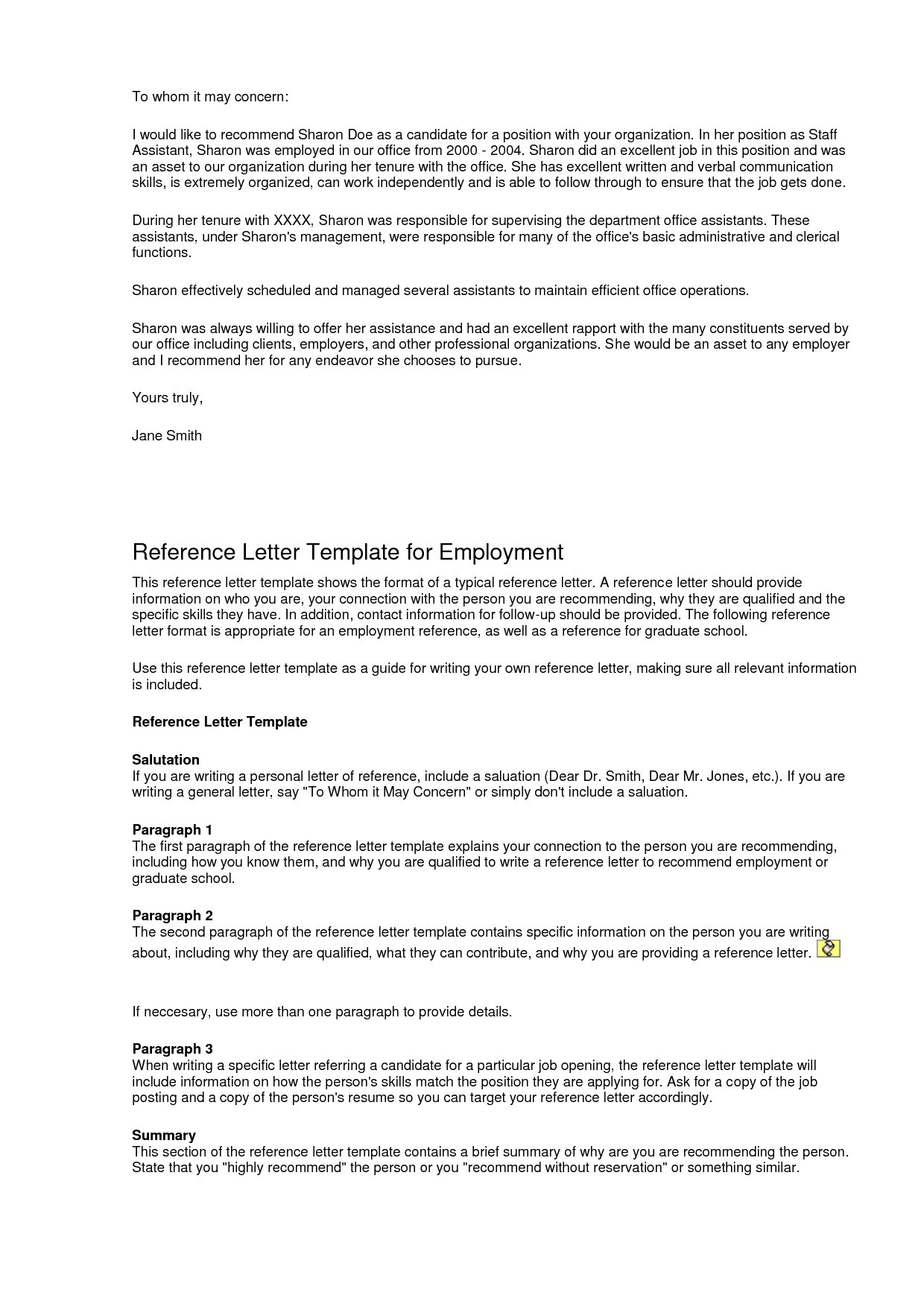 Generic Reference Letter Template - Professional Job Re Mendation Letter Sample Fresh Sample Re