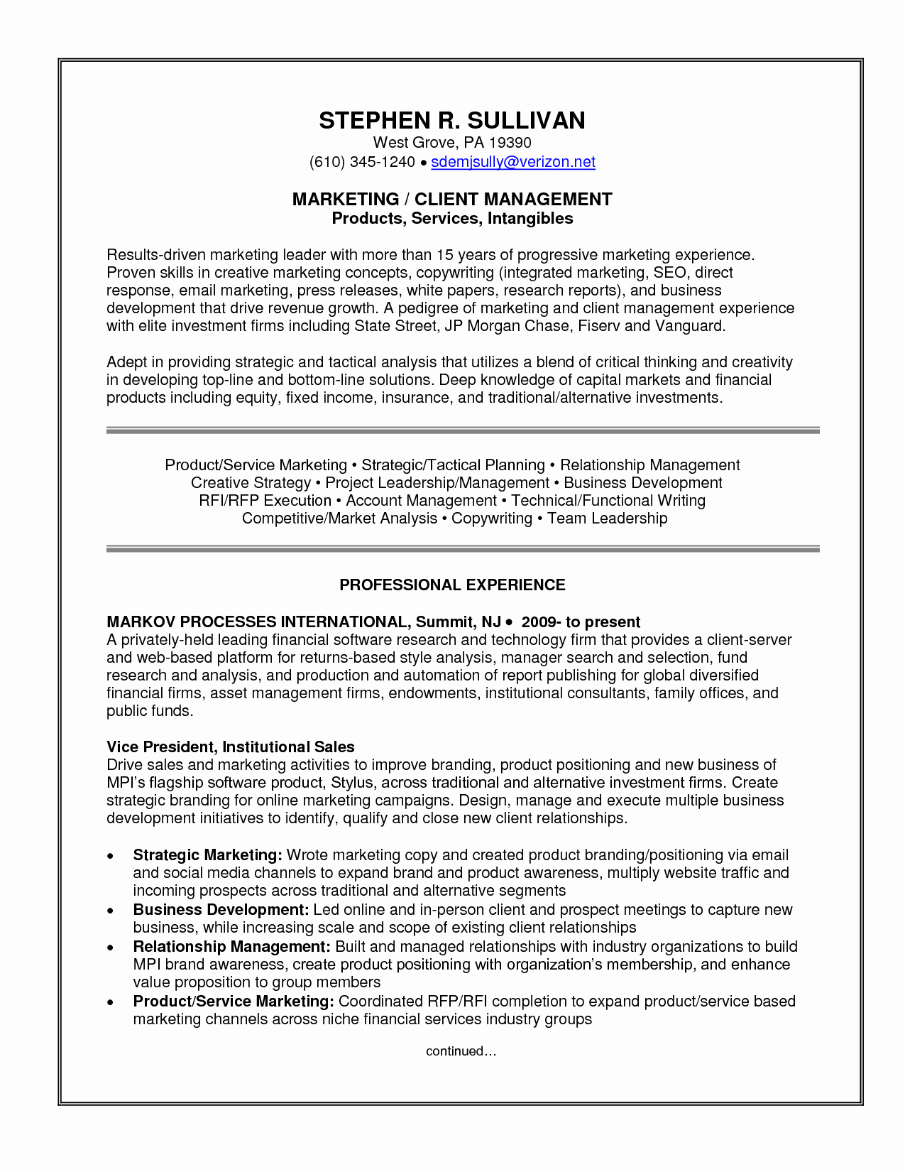 Accredited Investor Verification Letter Template - Professional Skills to Put A Resume Ideas