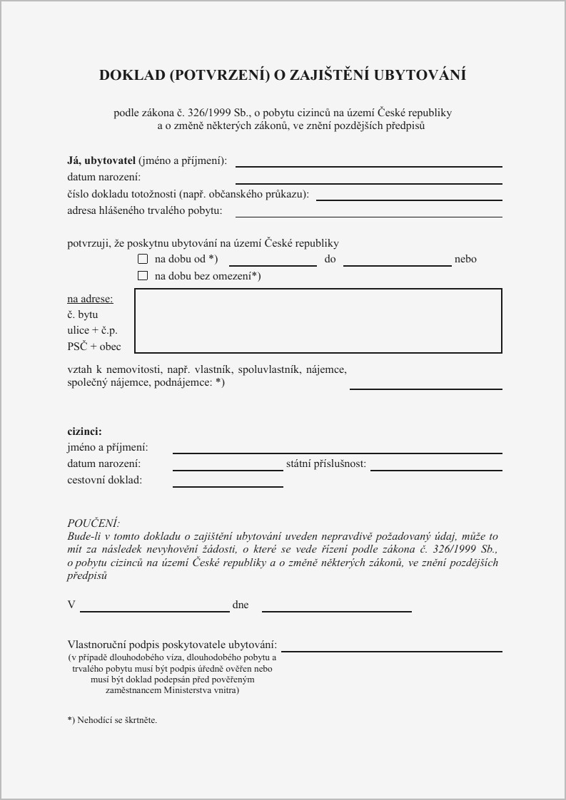 Printable Notarized Letter Of Residency Template - Proof Residency Letter Sample Lovely Printable Notarized Letter