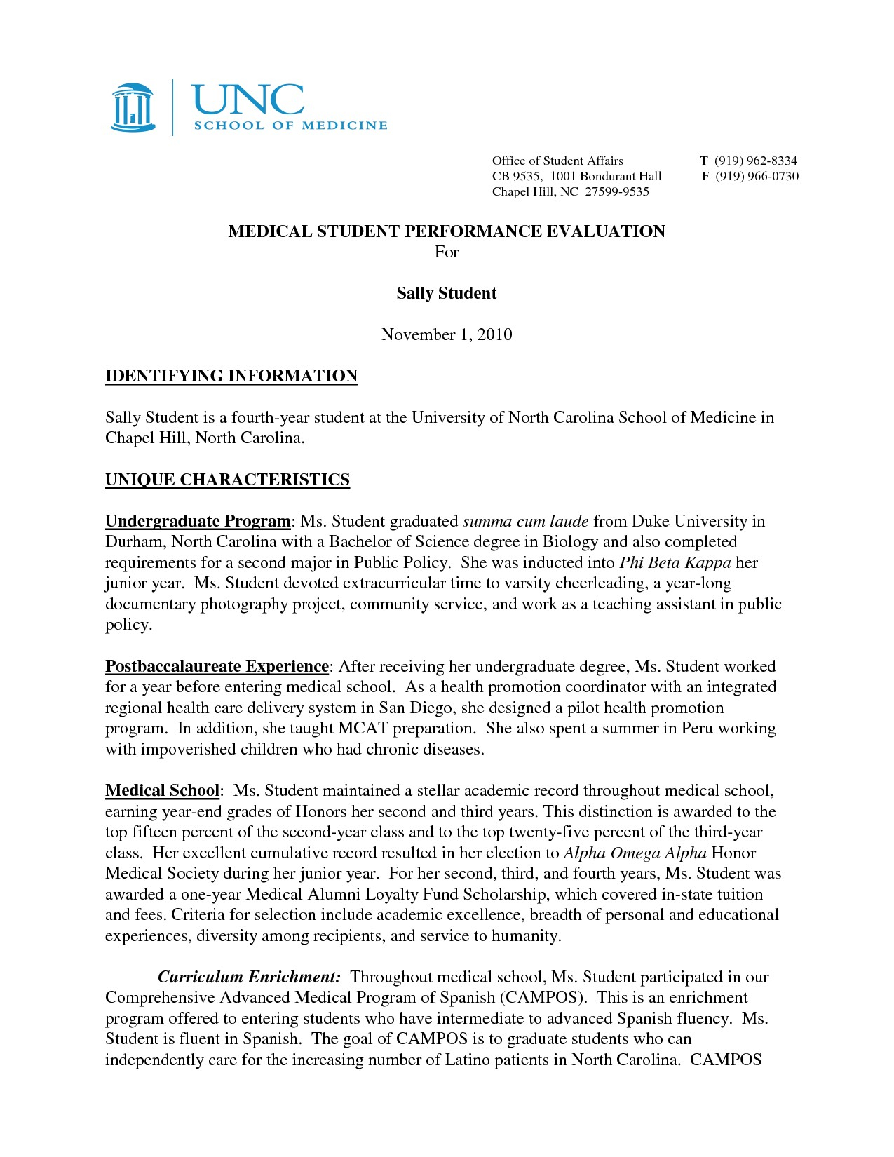 Medical School Letter Of Recommendation Template - Re Mendation Letter Template Medical Residency Copy Sample Medical