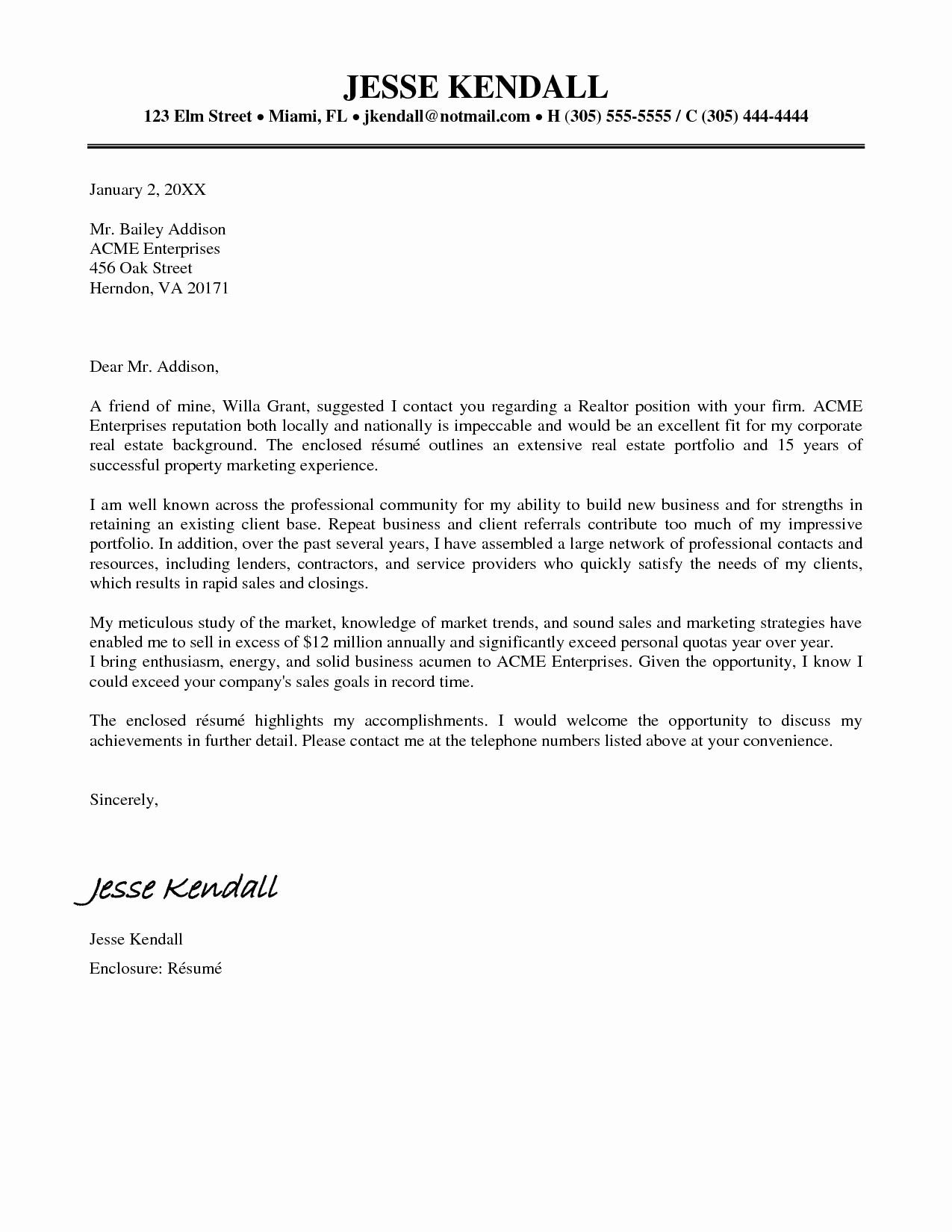 Real Estate Referral Letter Template - Real Estate Resume Sample Lovely Real Estate Resume Sample Best