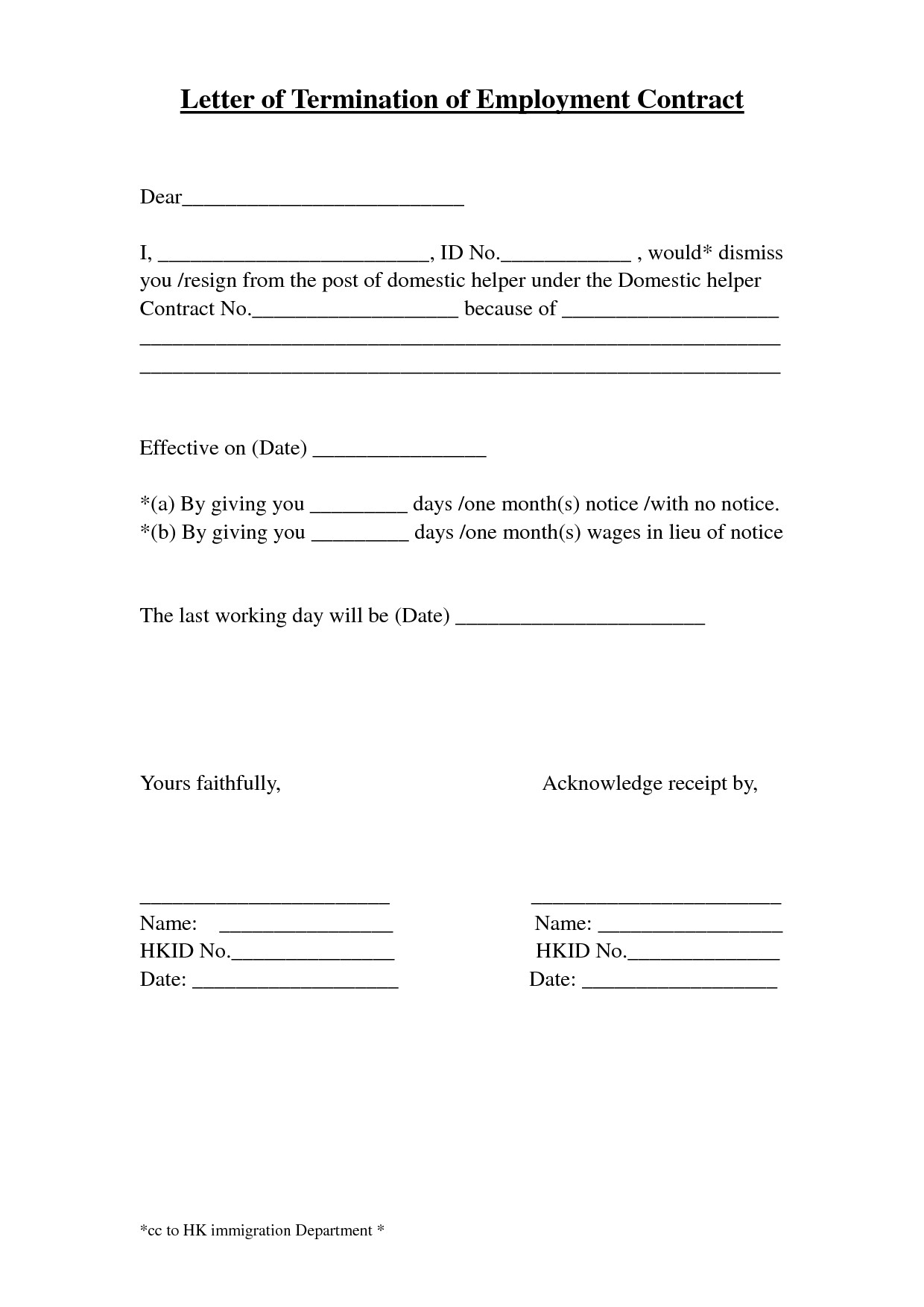 termination of employment letter template Collection-Certificate Termination Employment Sample Copy Template Letter Termination Employment Template New Employment Termination form 9-l