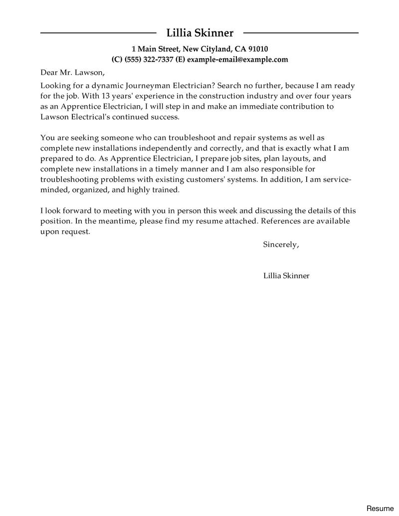 Hvac Cover Letter Template Examples | Letter Templates