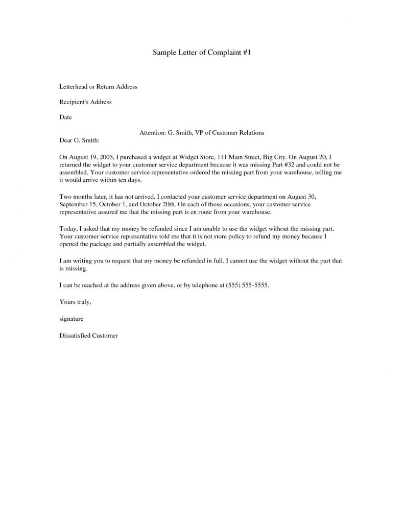 Refund Demand Letter Template - Refund Letter Copy Fresh Example Letter Refund Request New Example