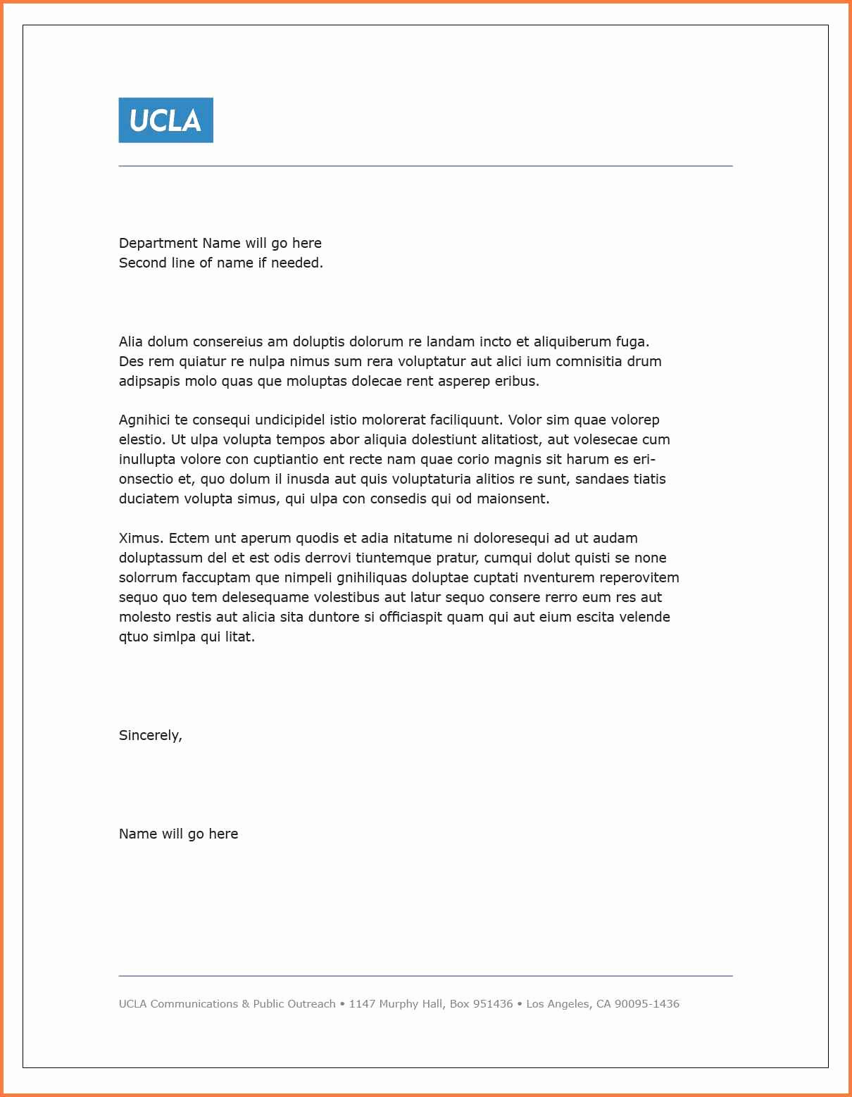 Rent Letter Template - Rent Increase Letter Sample Lovely Word Letter Template Aucket