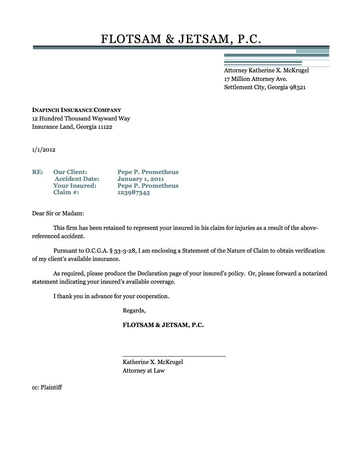 certificate of insurance request letter template examples letter
