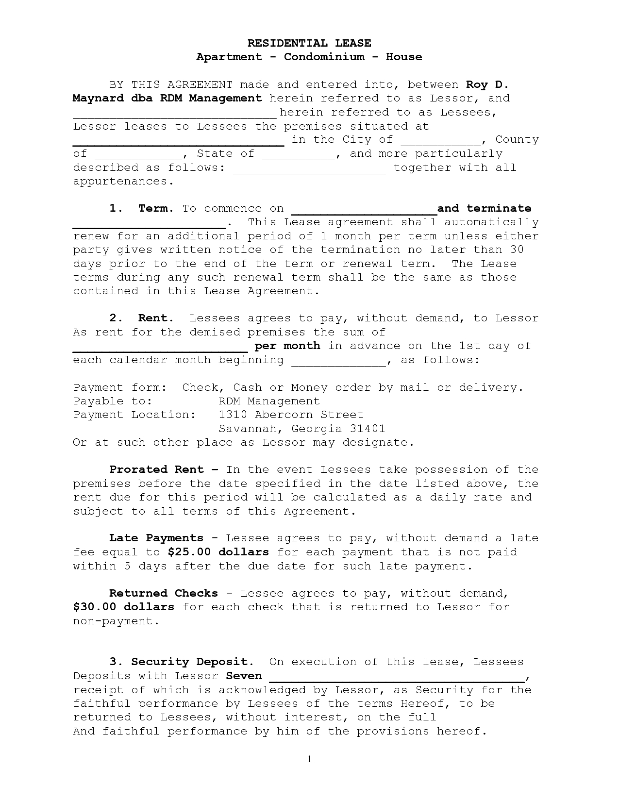 Lease Commencement Letter Template Collection Letter Templates