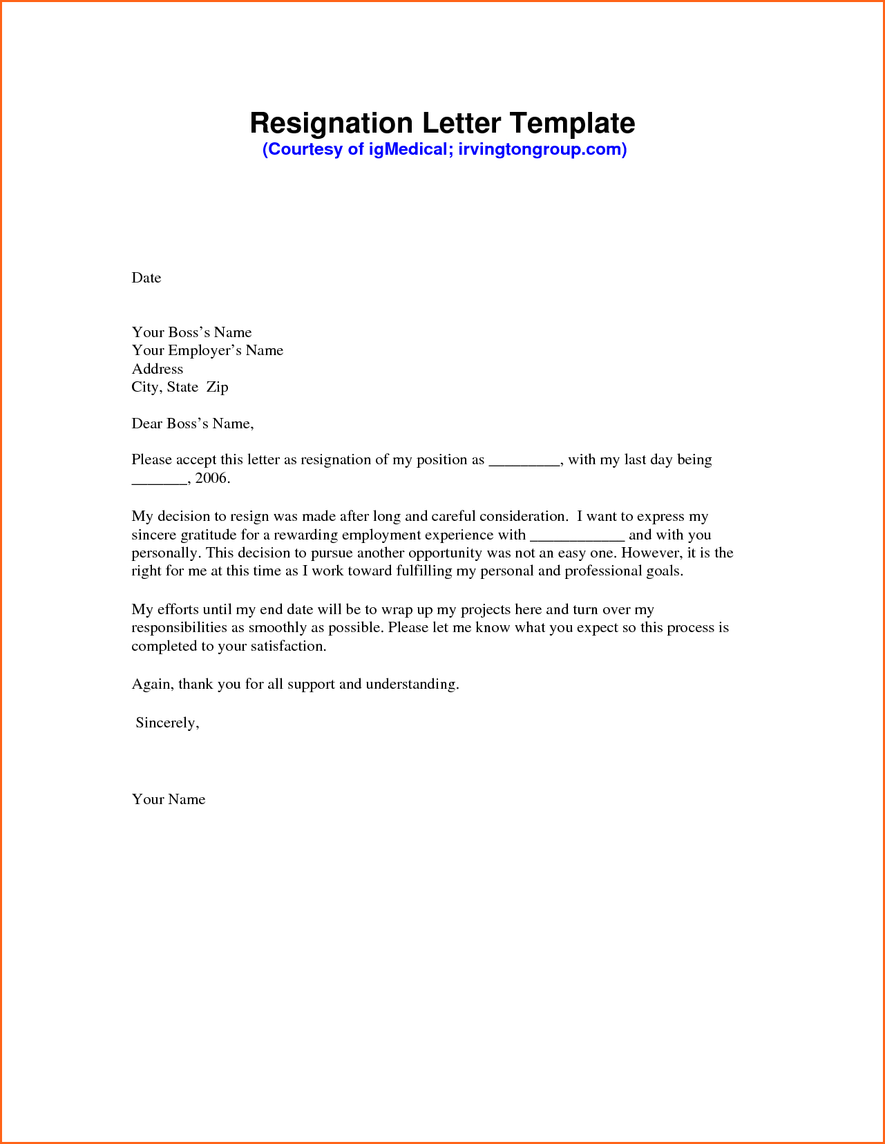 I Quit Letter Template - Resignation Letter Sample Pdf Mechanical Engineering Resume Template