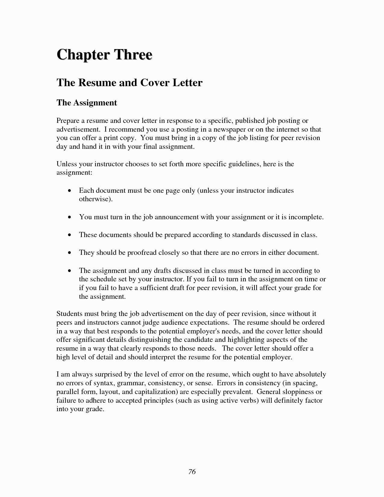 Cover Letter for Essay Template - Resume and Cover Letter Template Beautiful Fresh Job Fer Letter