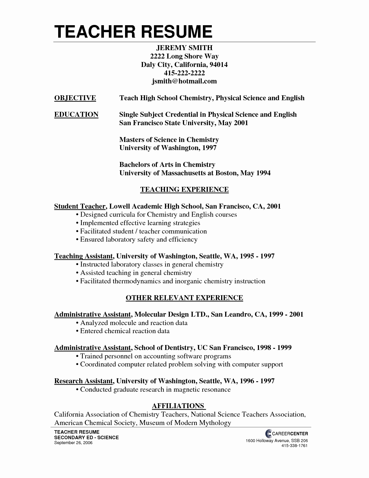 Cover Letter Template No Experience - Resume Cover Letter Example New Free Cover Letter Templates Examples