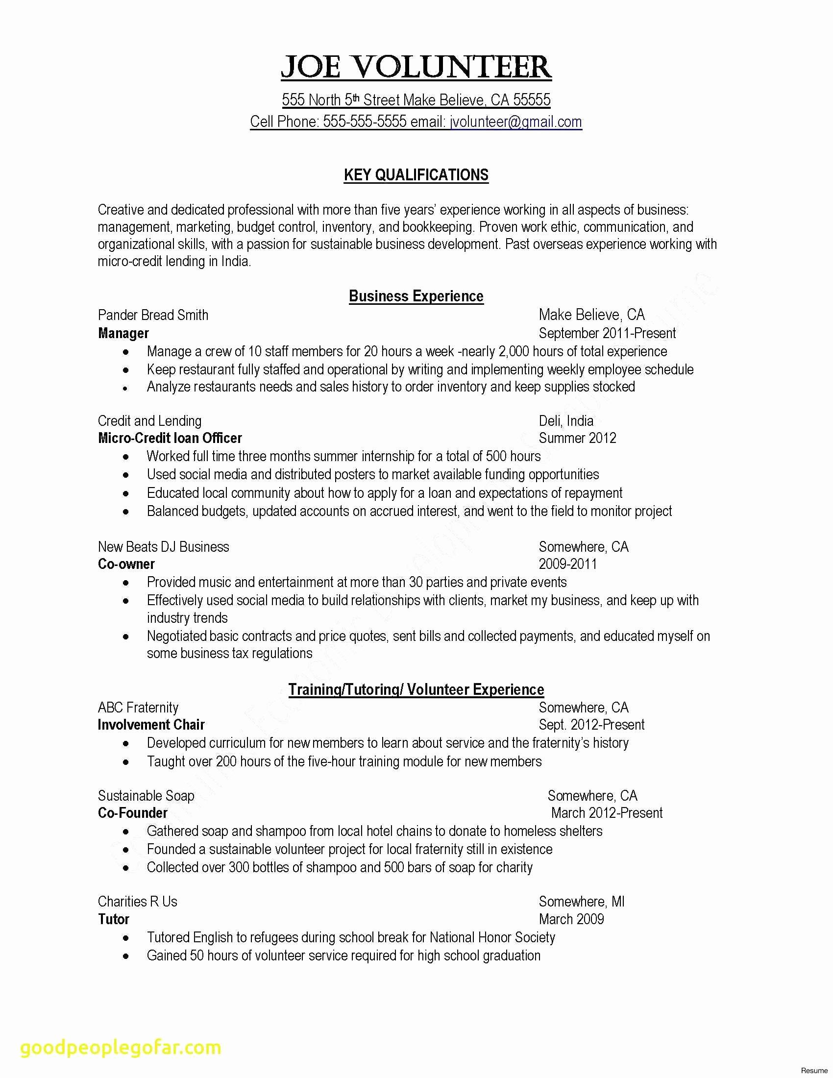 Simple Resume Cover Letter Template - Resume Cover Letter Template Beautiful Elegant Sample College