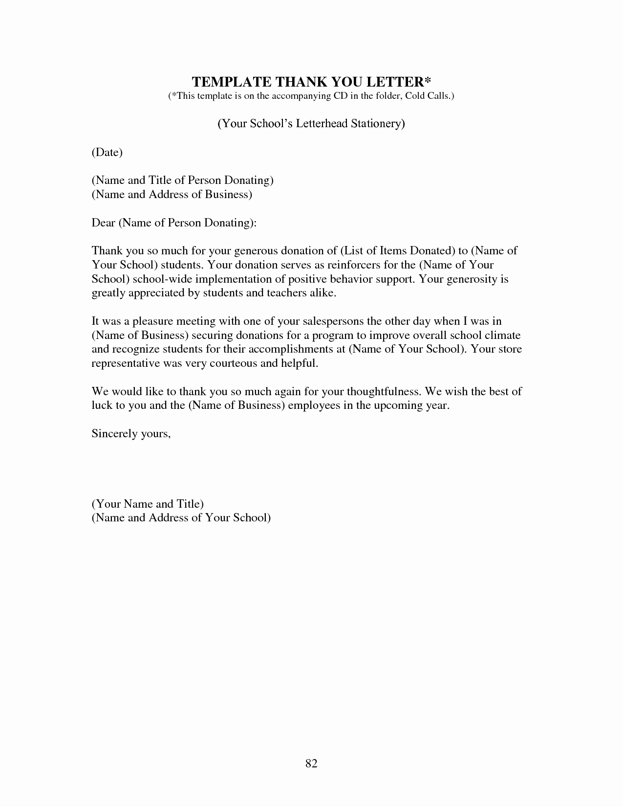 Free Donation Letter Template - Resume Cover Letter Template Free Elegant Od Consultant Cover Letter