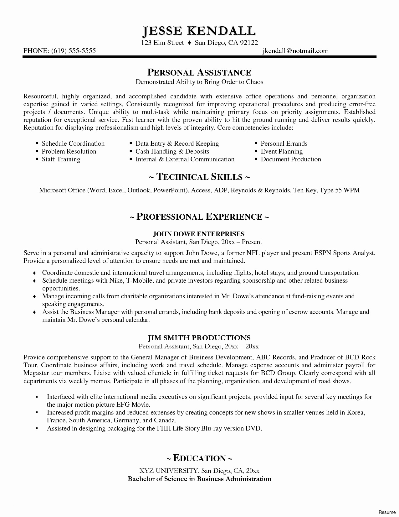 Internal Cover Letter Template - Resume Cover Letter Template Word Best Accounts Executive Resume