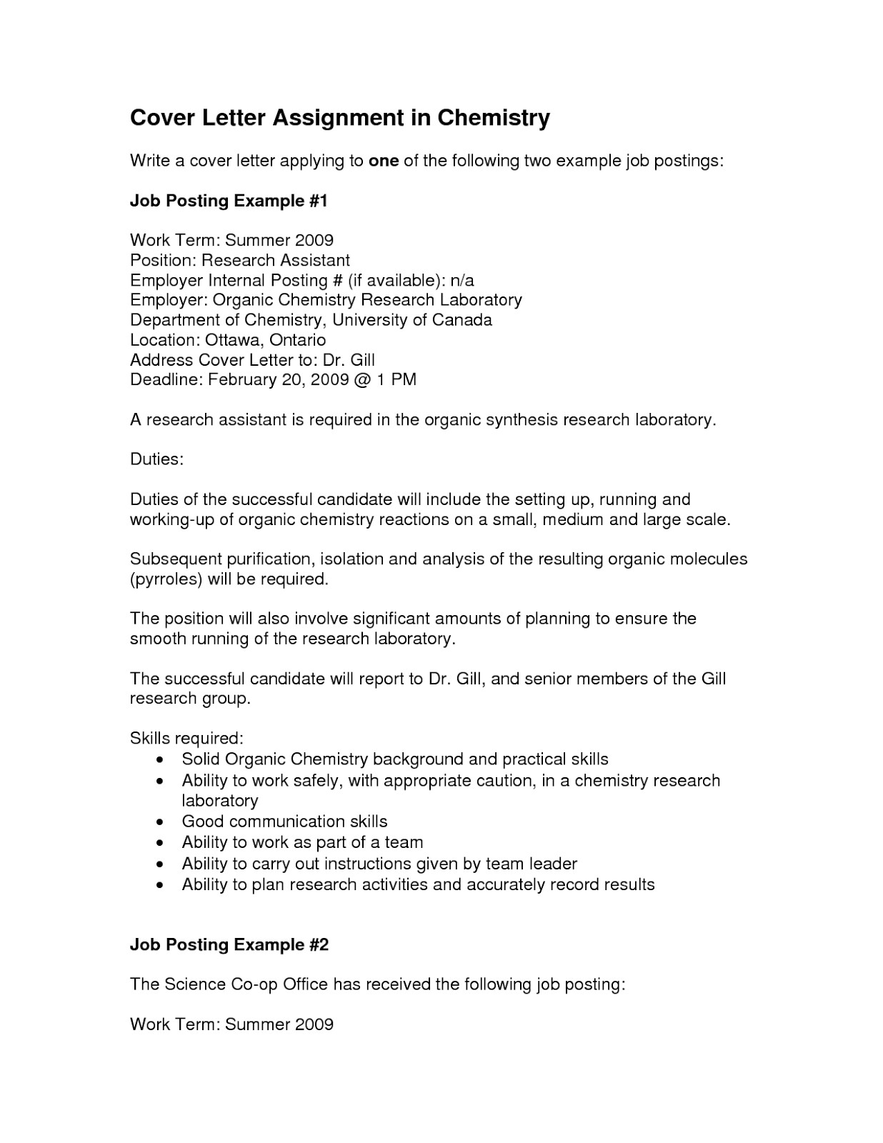 sample cover letter for internal position template - Sample Cover Letter For Communications Job