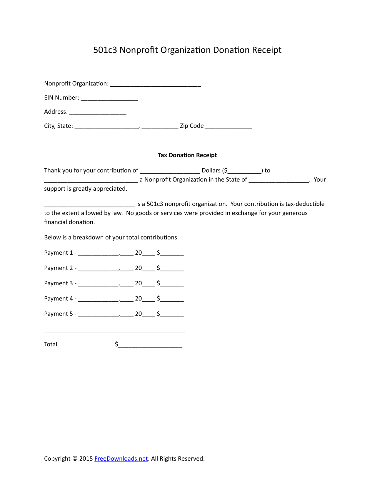 Donation Acknowledgement Letter Template - Resume Sample – Page 8 – Imzadi Fragrances