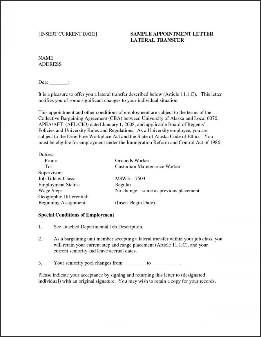 Nursing Cover Letter Template Word
