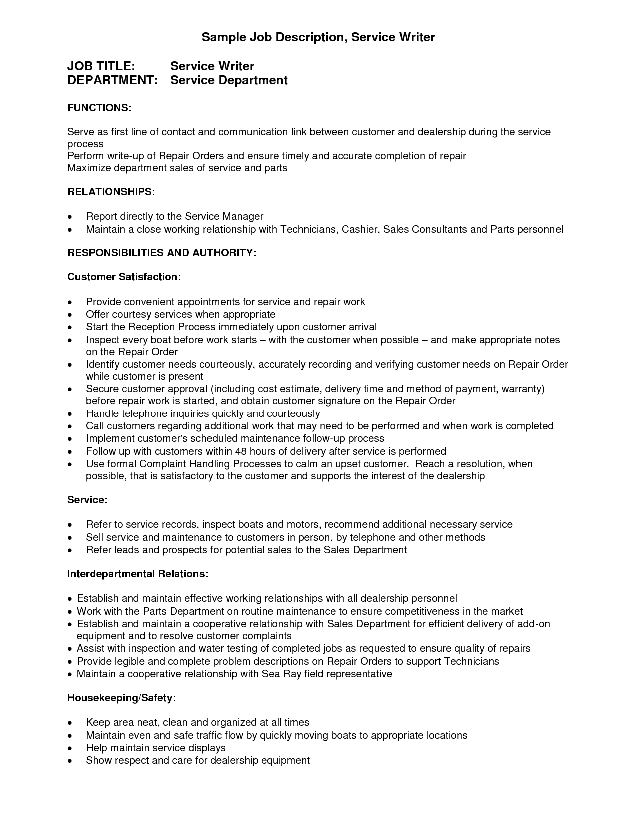Sales Letter Template Promoting A Service - Resume Writing Service Best Templatewriting A Resume Cover Letter