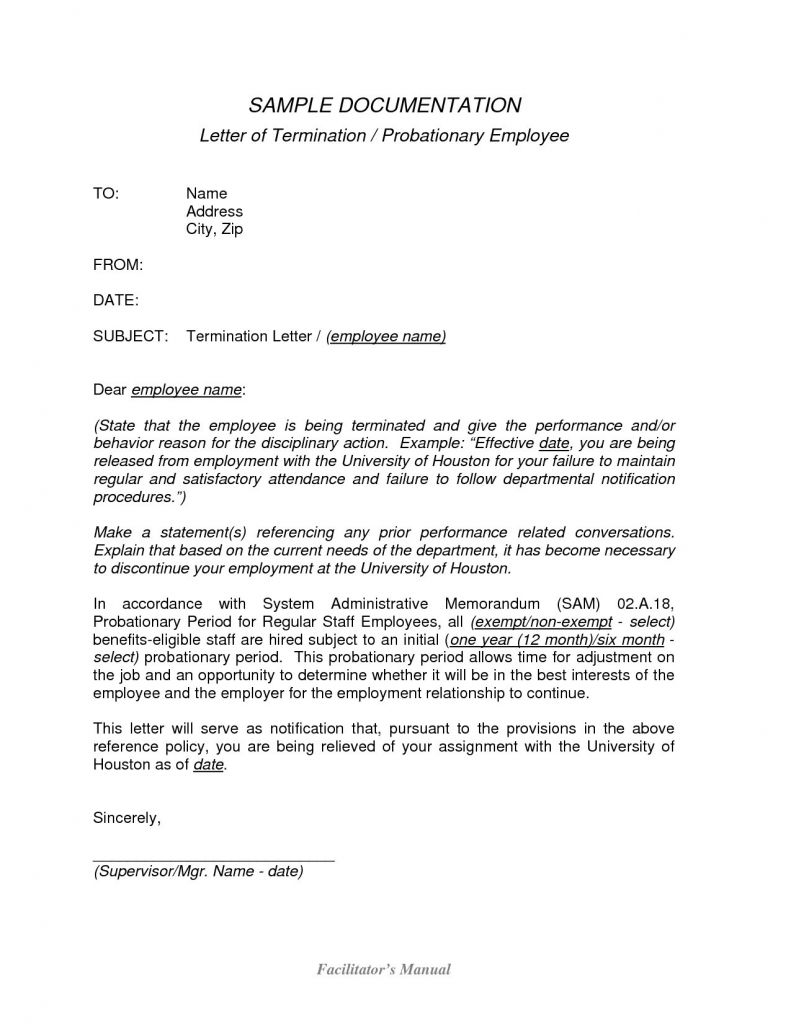Dismissal Letter Template - Sample A Job Termination Letter Valid Sample Waiver Letter Luxury