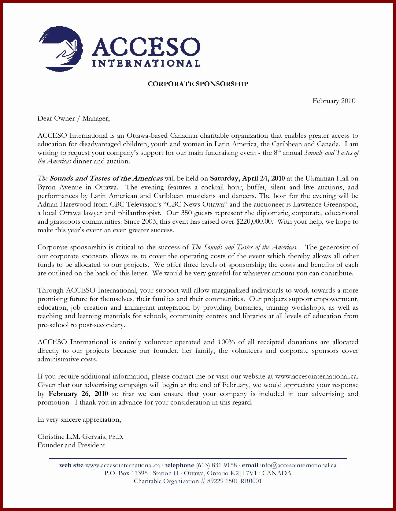 Event Sponsorship Letter Template - Sample Certificate Beauty Pageant Copy Free Sponsorship Letter