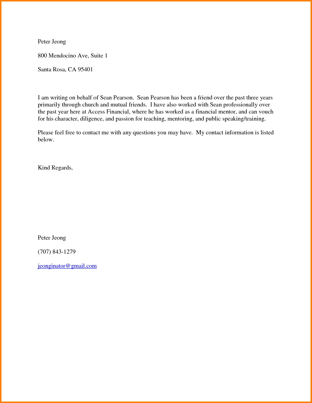 Reference Letter Template for A Friend - Sample format Certificate Good Moral Elegant Reference Letter