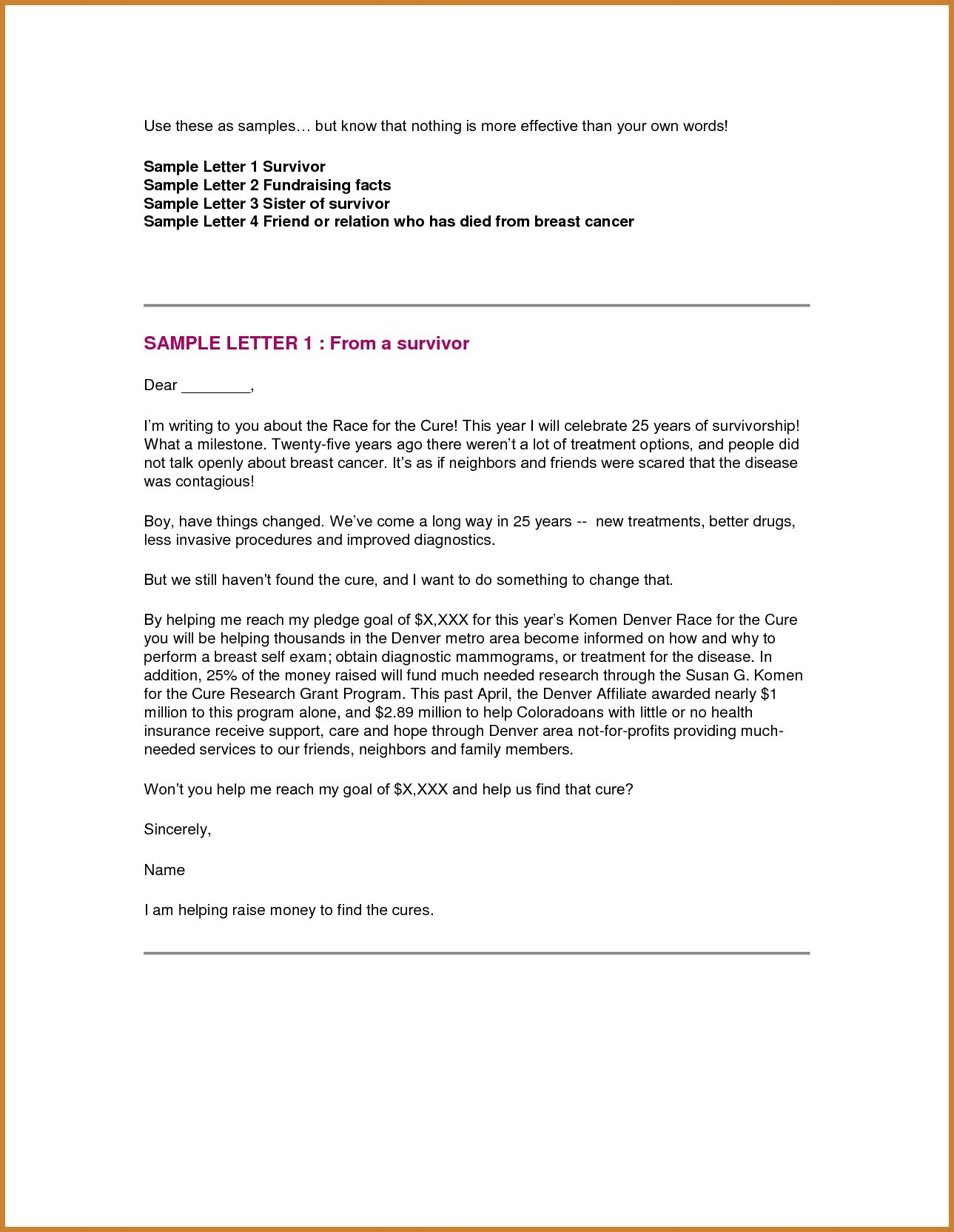 Goodbye Letter to Addiction Template Samples | Letter Templates