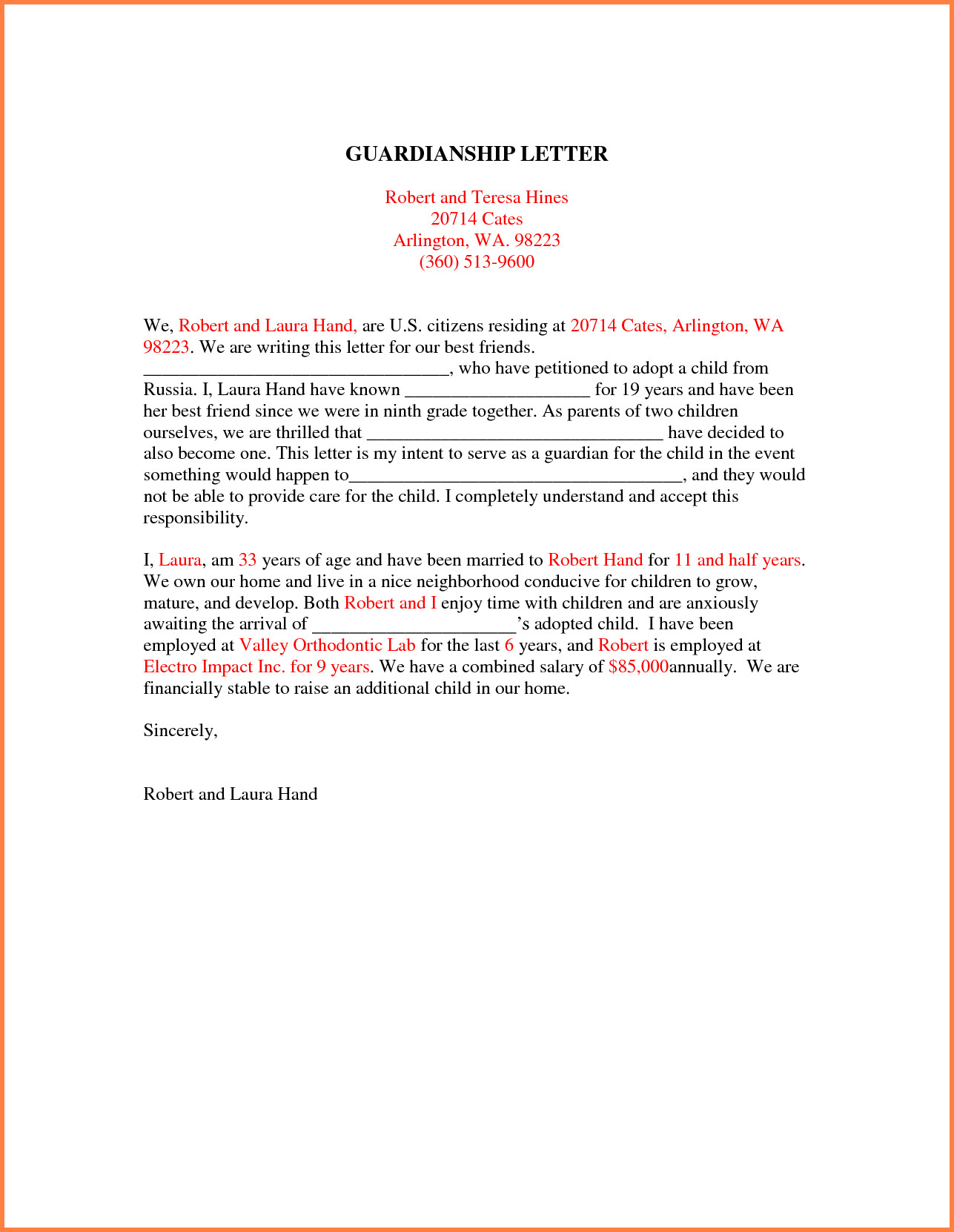Free Temporary Guardianship Letter Template - Sample Guardianship Letter Inspirational Nice Temporary Guardianship