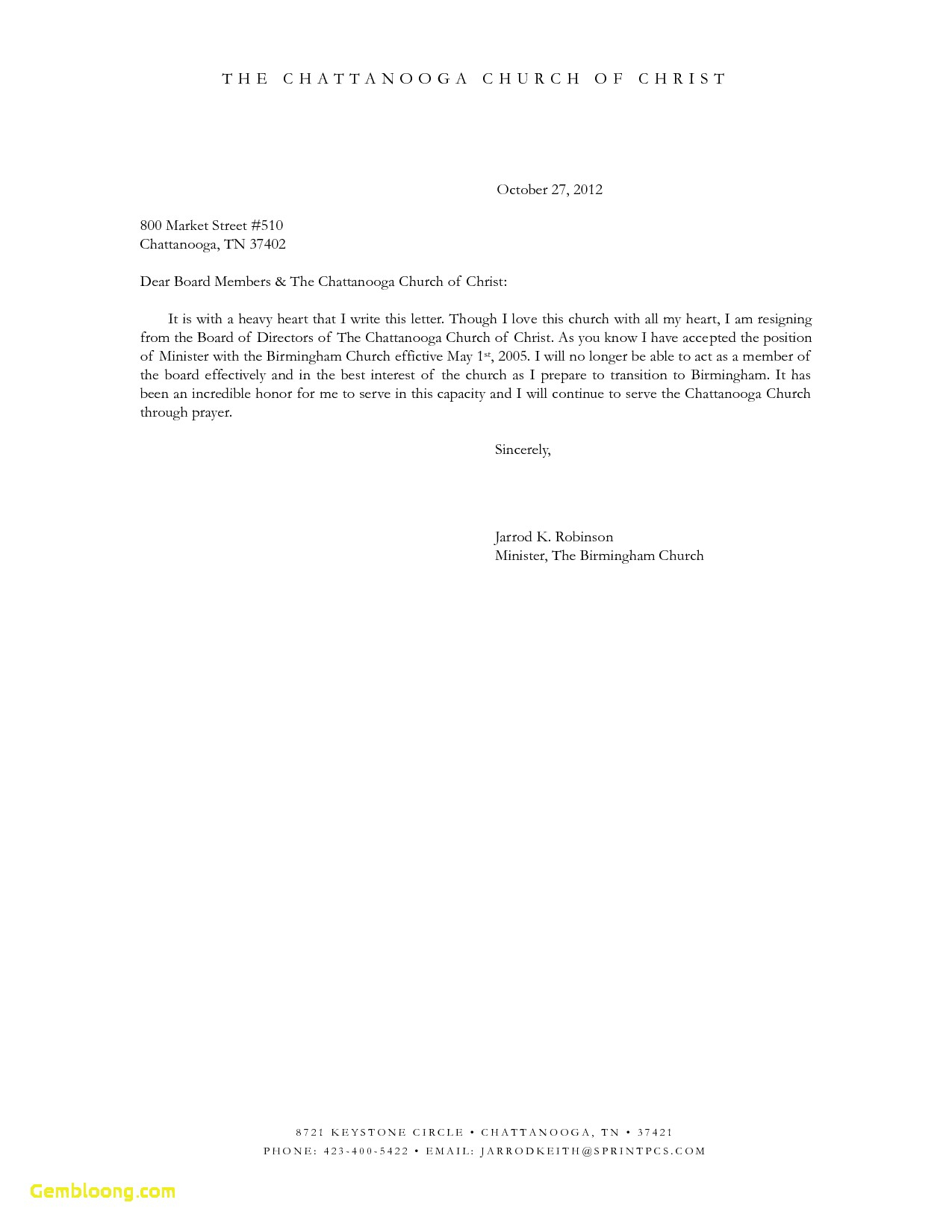 Resignation Letter From Board Of Directors Template - Sample Munity Service Hours Letter Board Member Resignation
