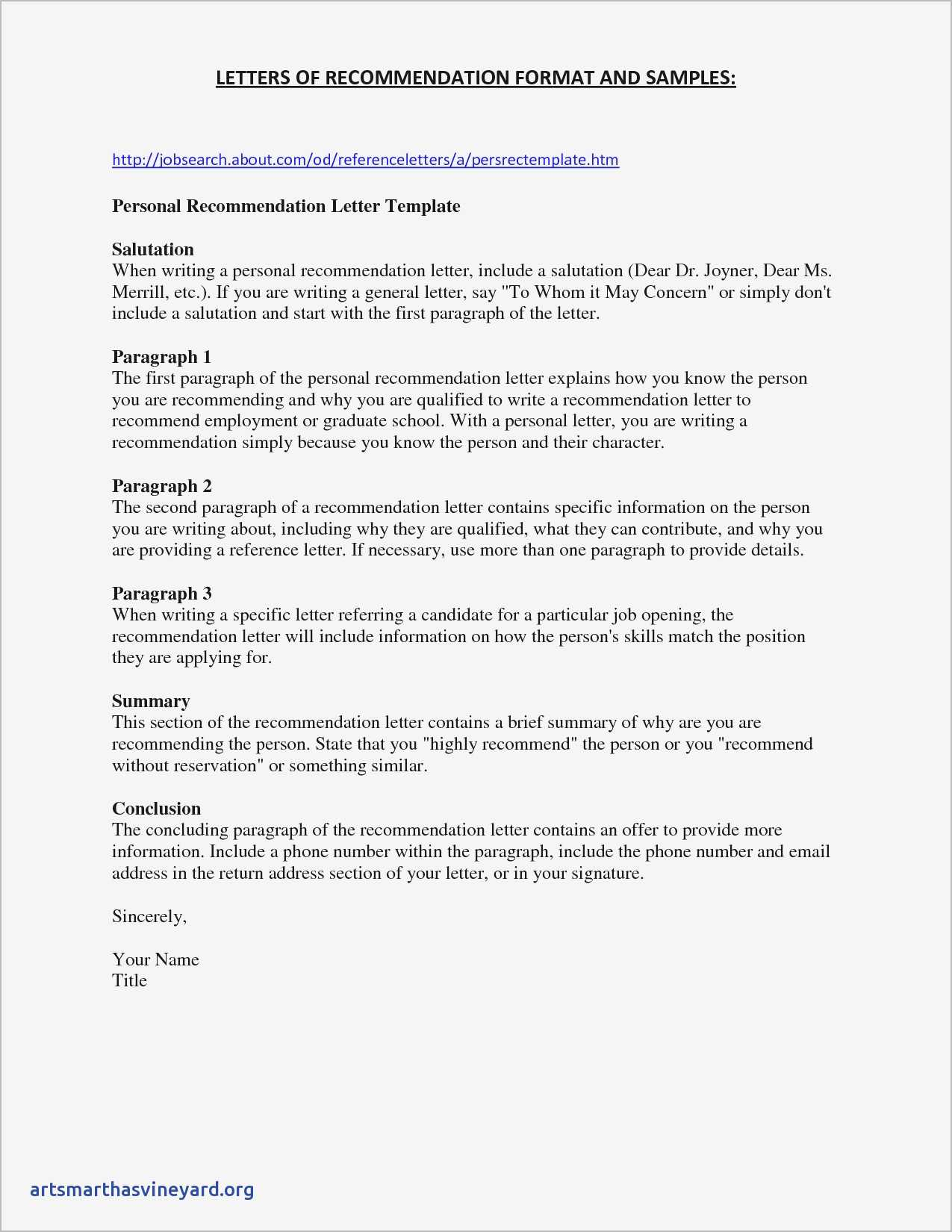 Personal Character Reference Letter Template - Sample Personal Reference Letter for A Friend Samples From Character