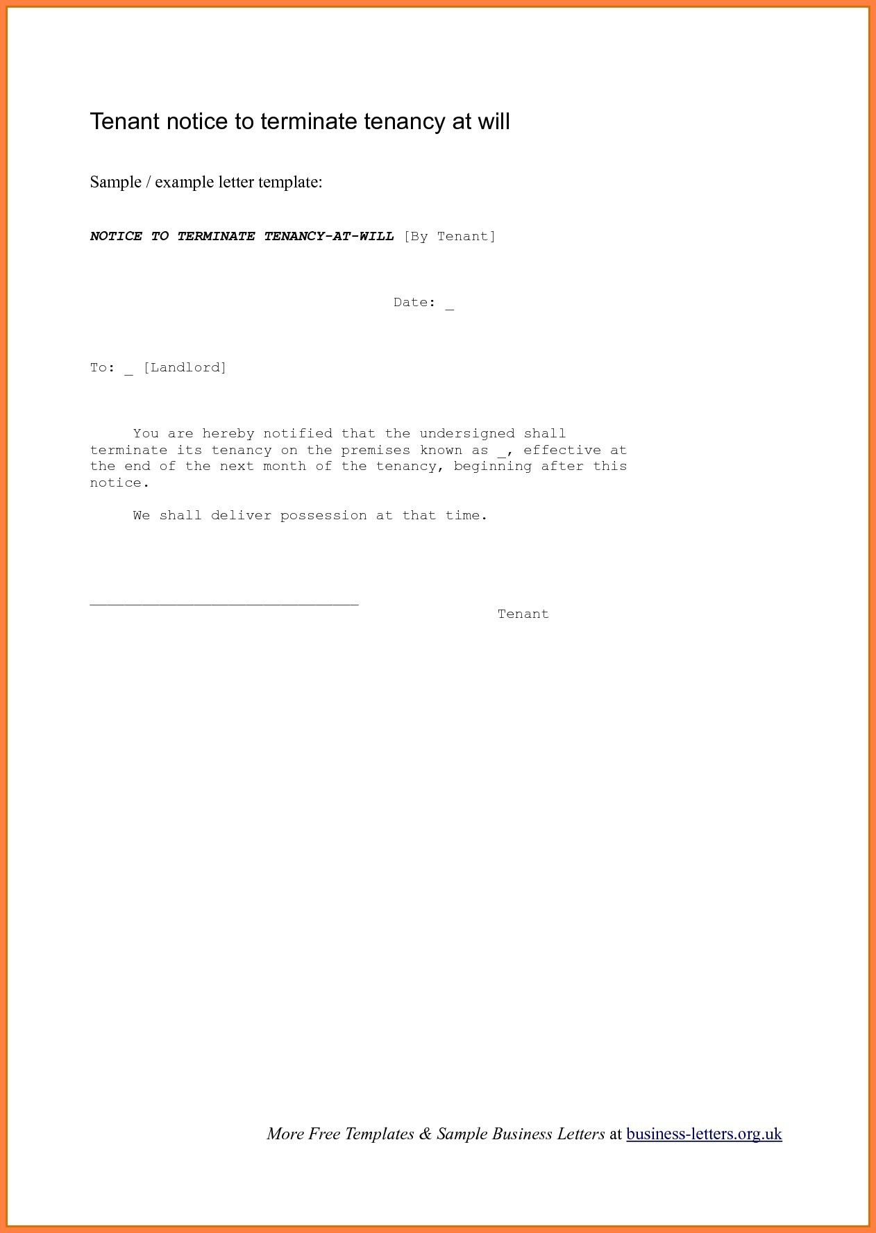 Free Resignation Letter Template Microsoft Word Download Collection