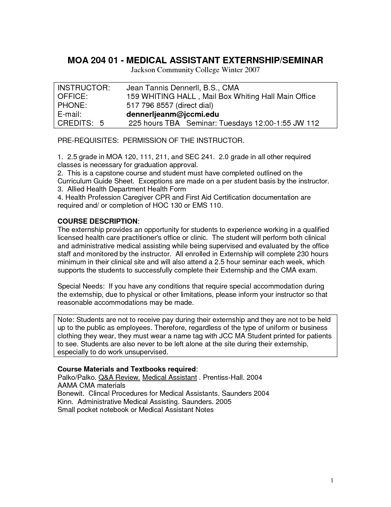 Medical Assistant Cover Letter Template   Sample Resume For Medical  Assistant Cover Letter For Medical