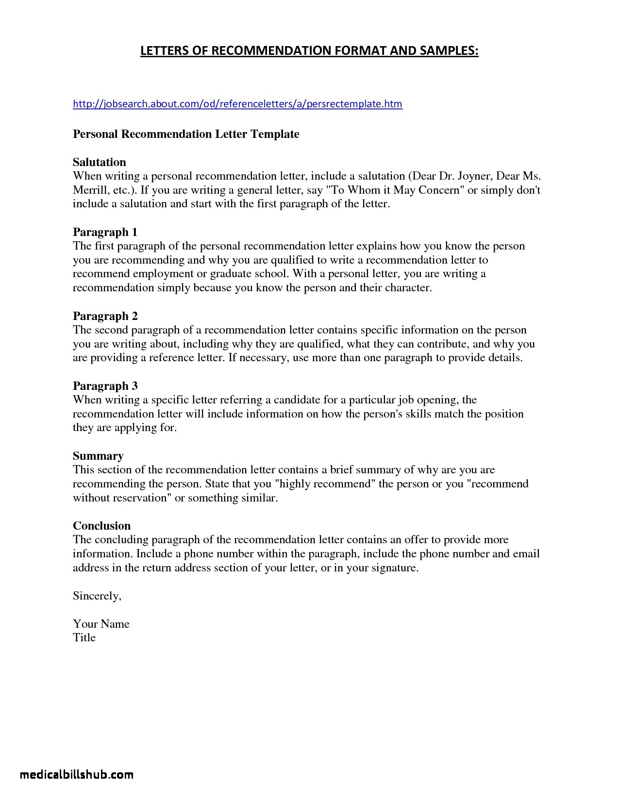 School Reference Letter Template - Samples Job Re Mendation Letters by Employers Save Letter Re