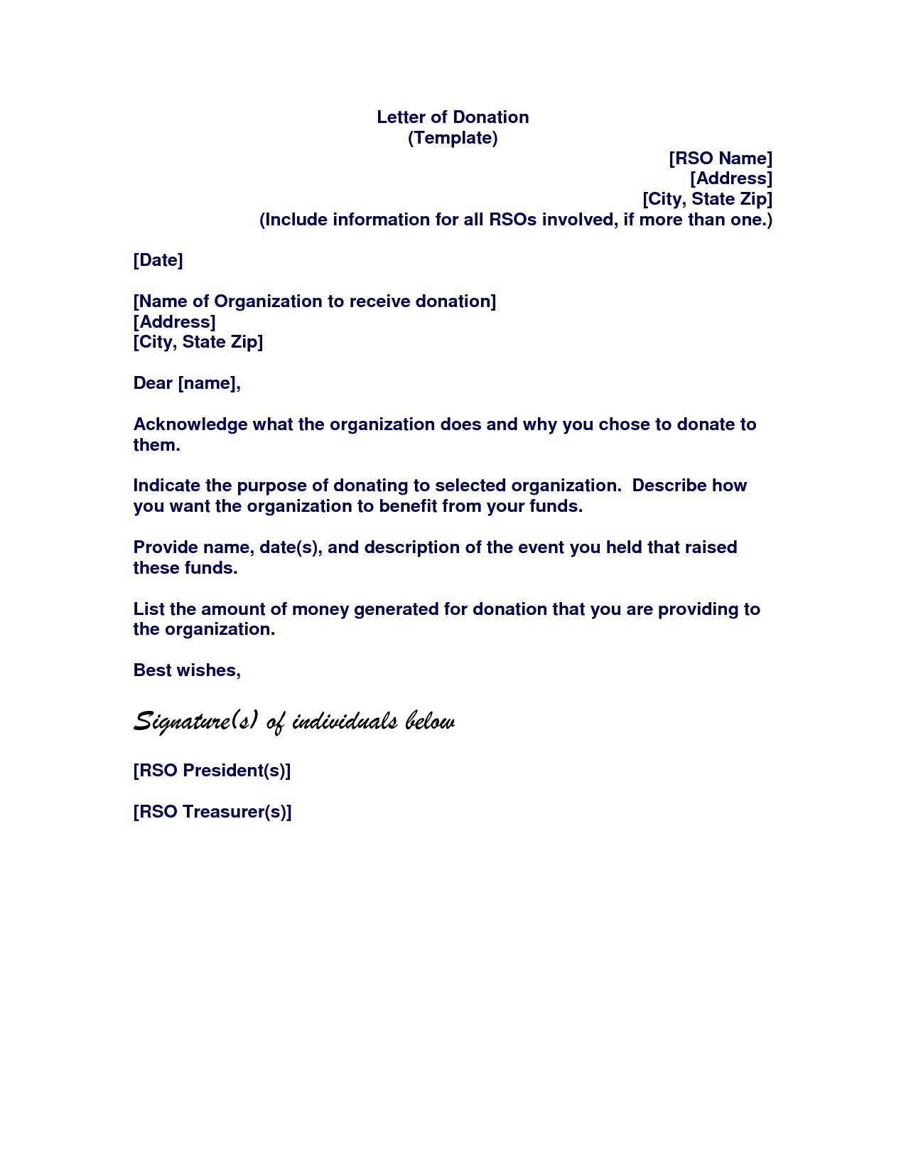 Template Letter Requesting Donations for Fundraiser - Samples Letters Request Donation Inspirationa Samples Letters