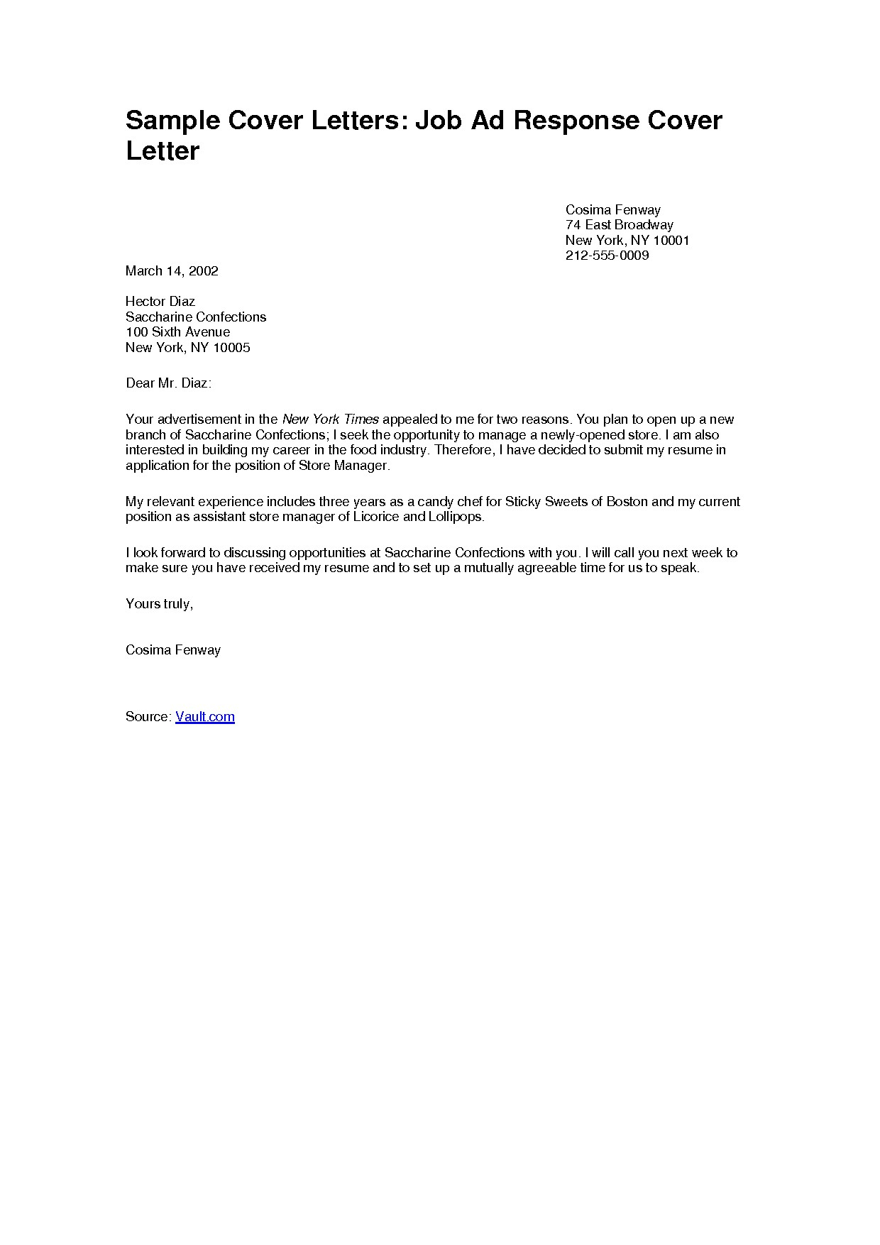 Free Demand Letter Template - Samples Of Job Cover Letters Acurnamedia
