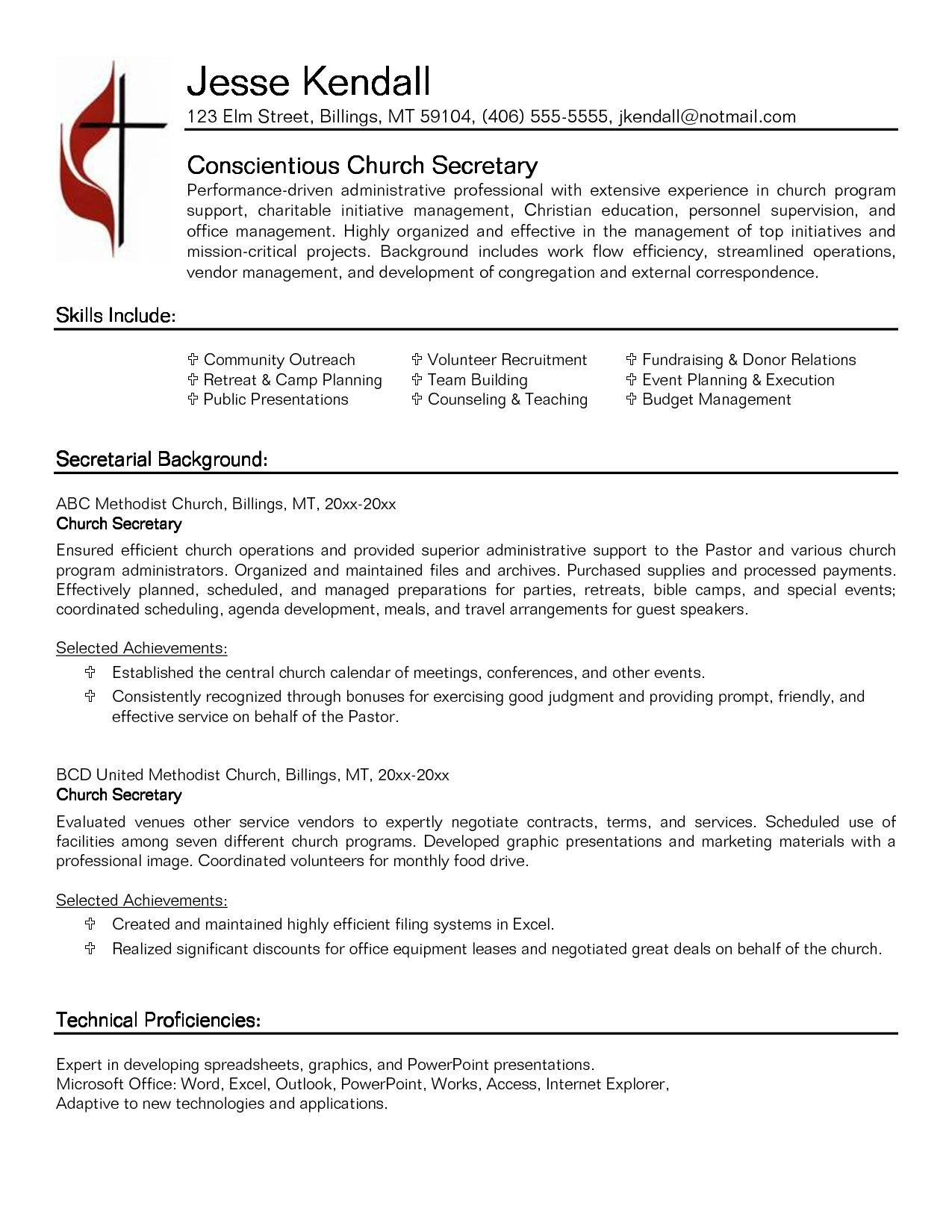 School Secretary Cover Letter Template - Secretary Resume Examples 8 Example Sample Legal Secretary Resumes