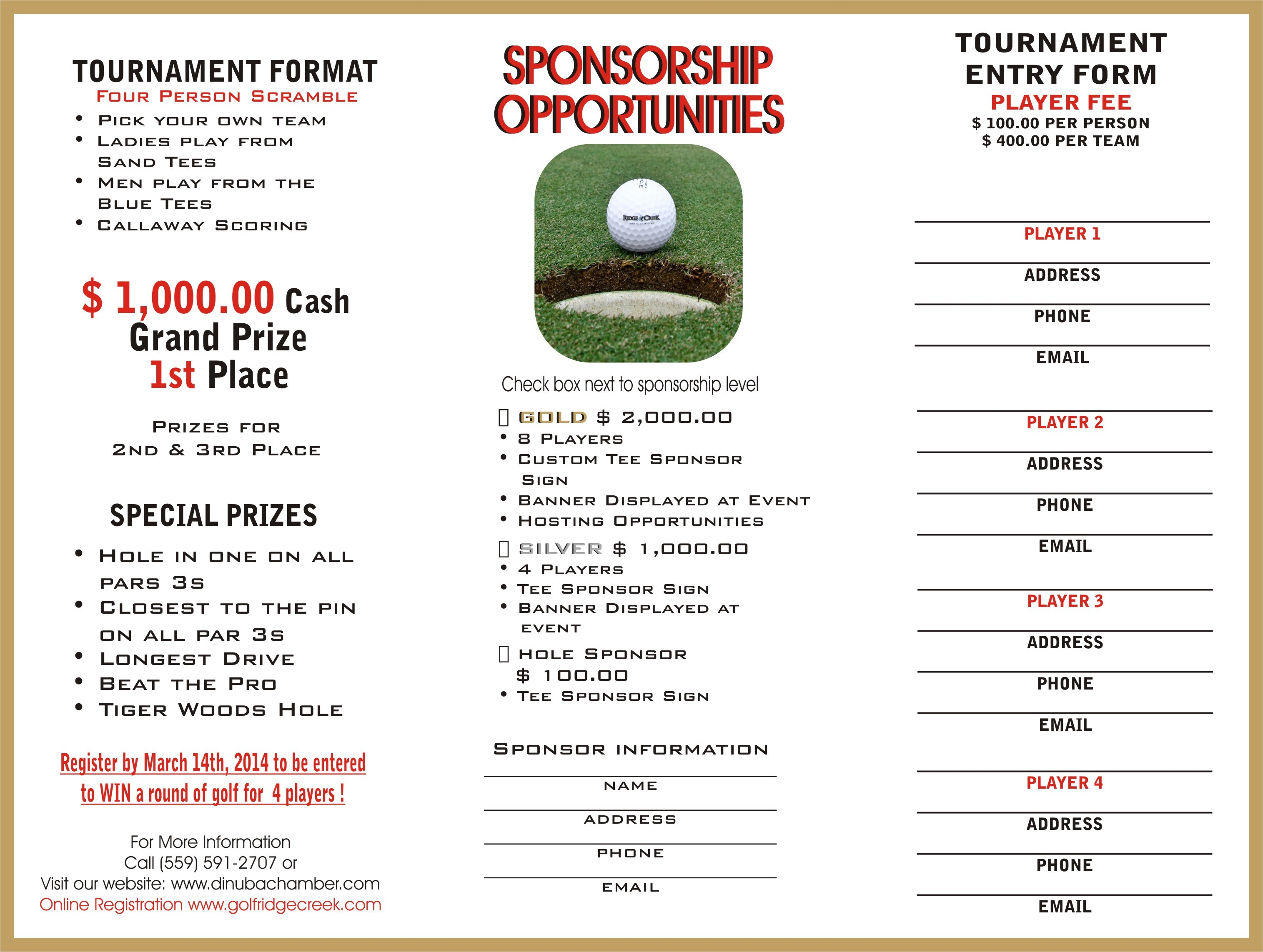 Golf tournament Sponsorship Letter Template - Silent Auction Bid Sheet Template Awesome Golf tournament