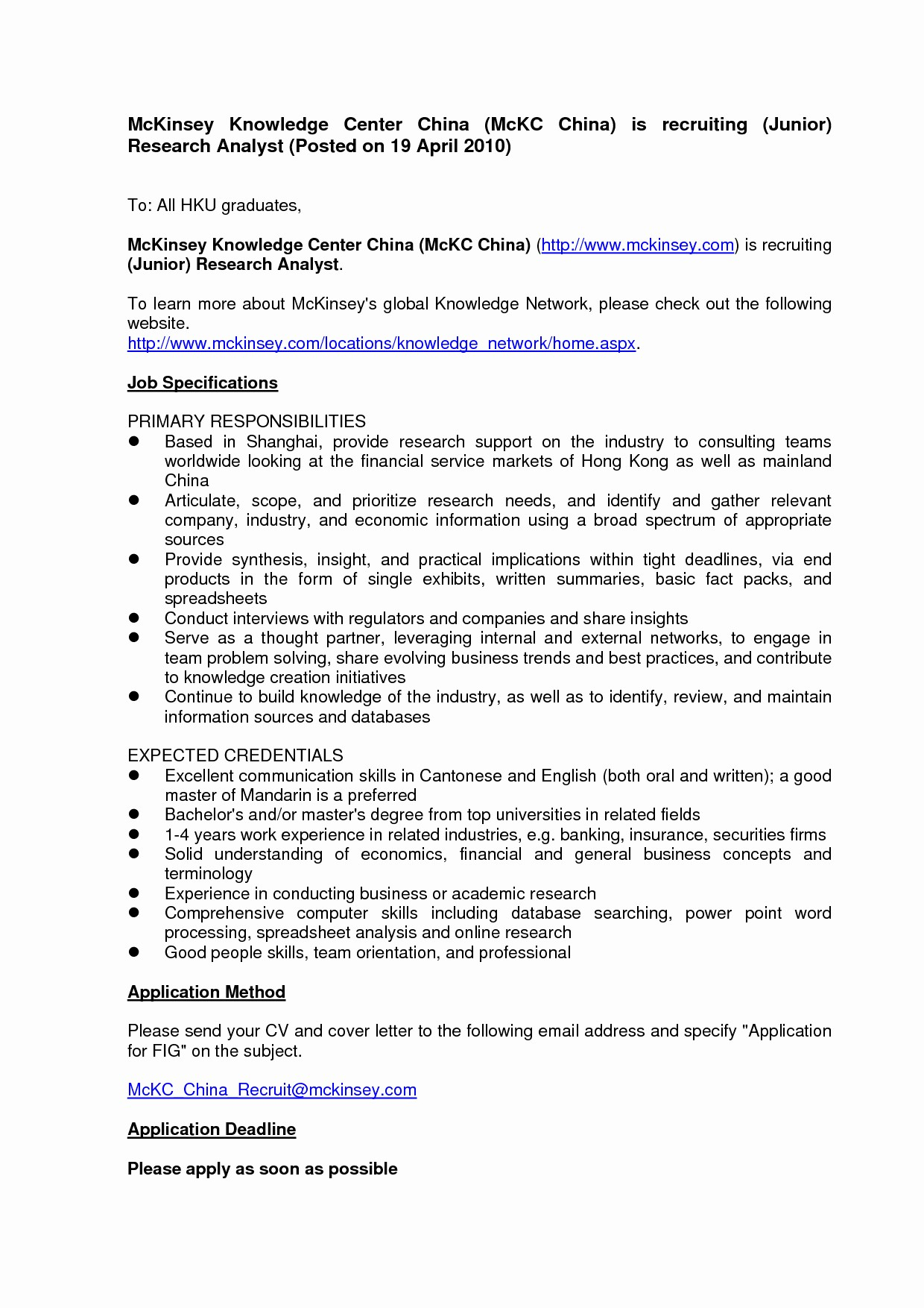 Simple Cover Letter Template for Job Application - Simple Job Application Cover Letter Best Resume Cover Letter