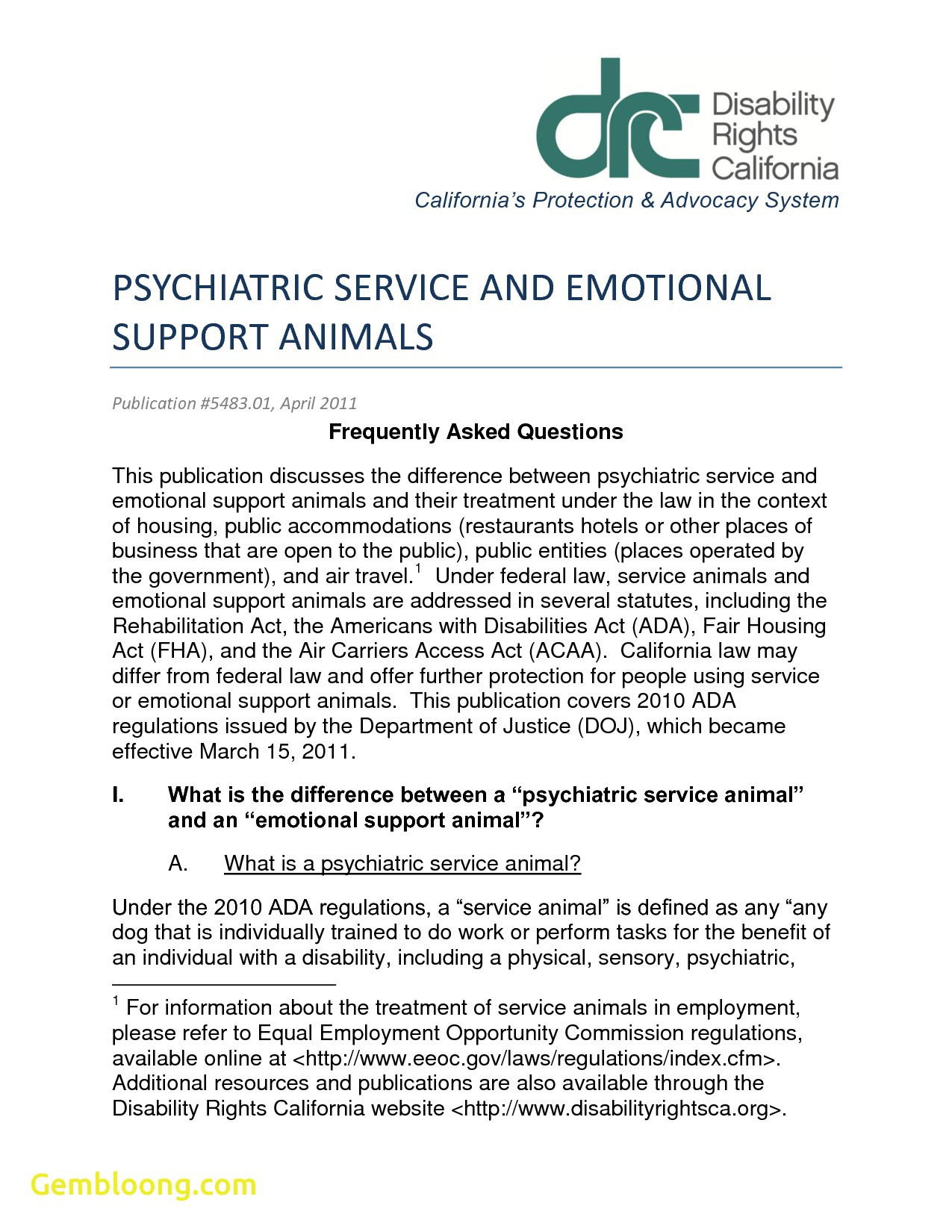 Emotional Support Dog Letter Template - Staggering Emotional assistance Animal Letter