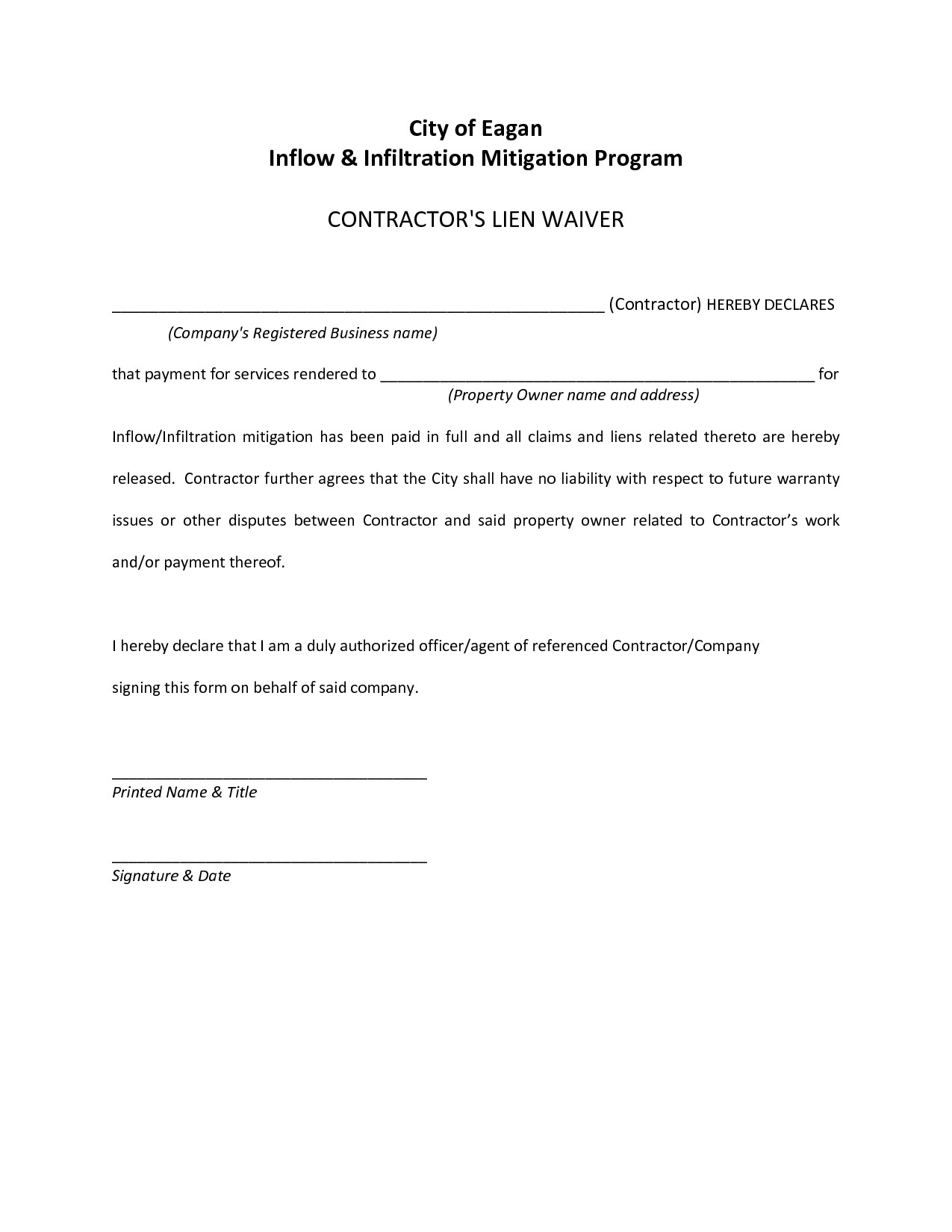 Auto Lien Release Letter Template Staggering Tax