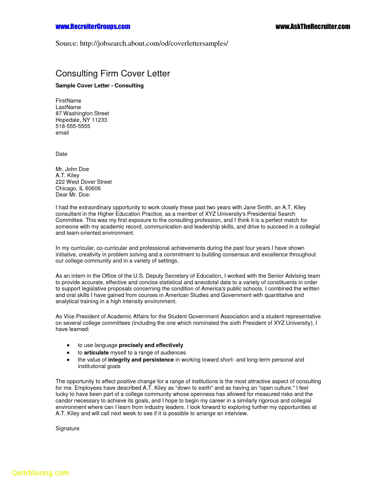 Business Cover Letter Template Download - Students Resume Templates Free Download First Job Resume Templates