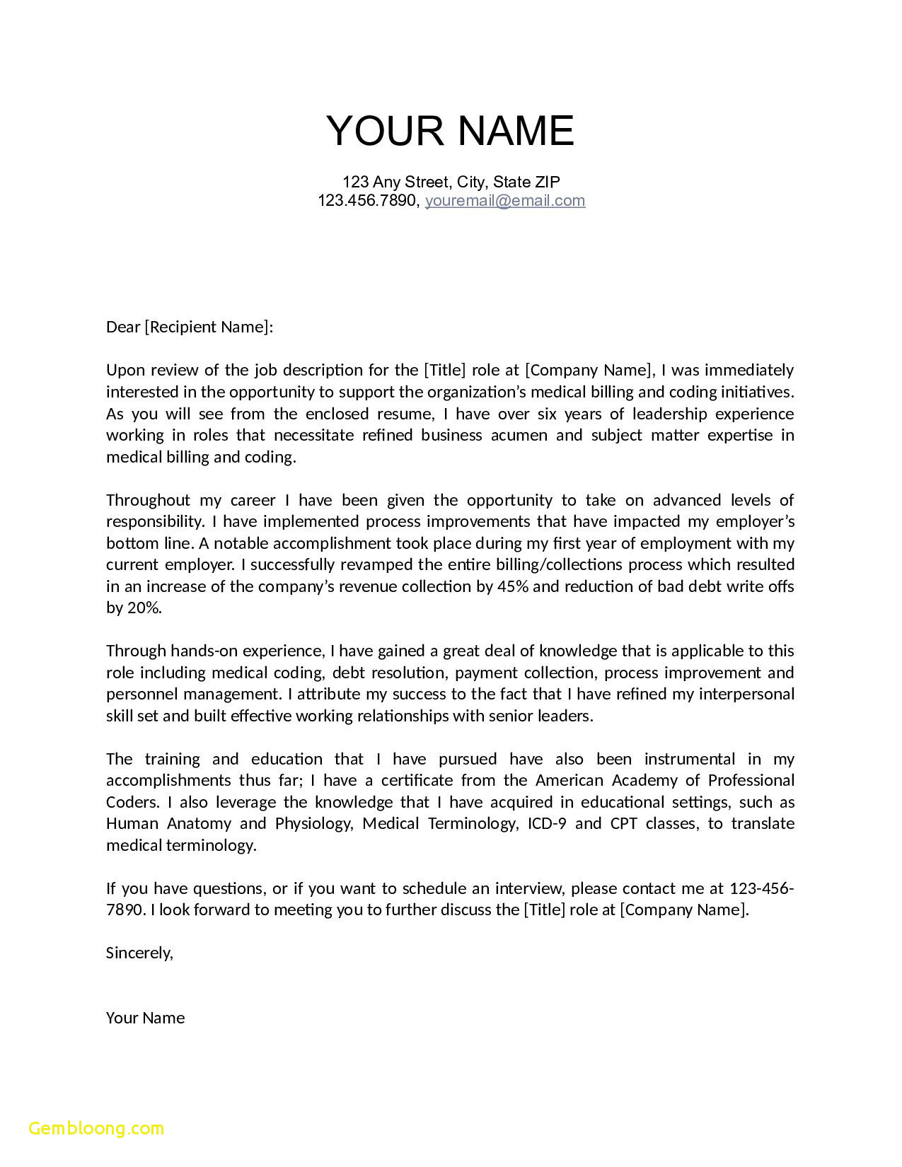 Expert Opinion Letter Template - Teaching Resume Cover Letter Download now Cover Letter Template for