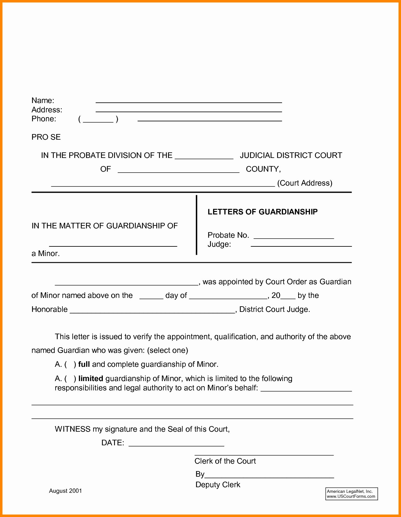 free temporary guardianship letter template example-Temporary Guardianship Agreement form Temporary Custody Letter Template Elegant Child Custody Agreement 5-k