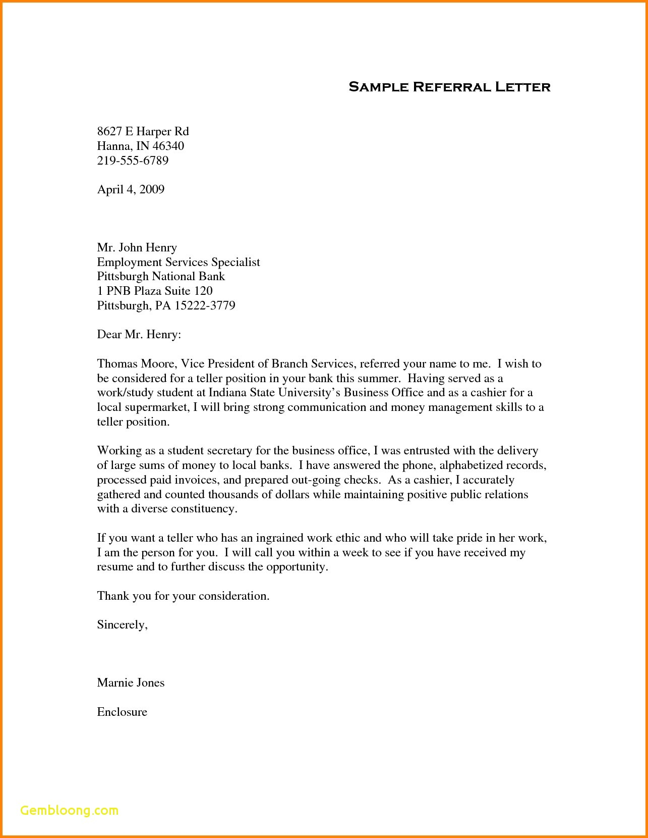 Medical Consult Letter Template - Thank You for Your Referral Letters Appeal Letter Template Medical