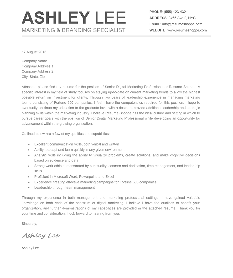 mac pages cover letter template examples letter templates