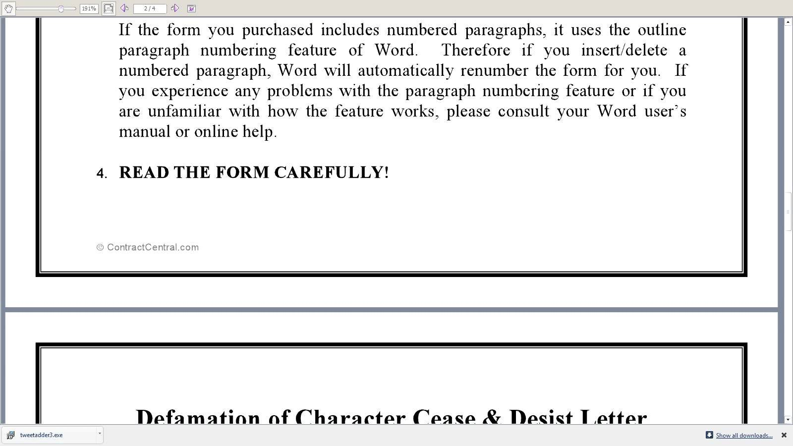 Defamation Of Character Letter Template - Unique Cease and Desist Letter Slander Your Template Collection