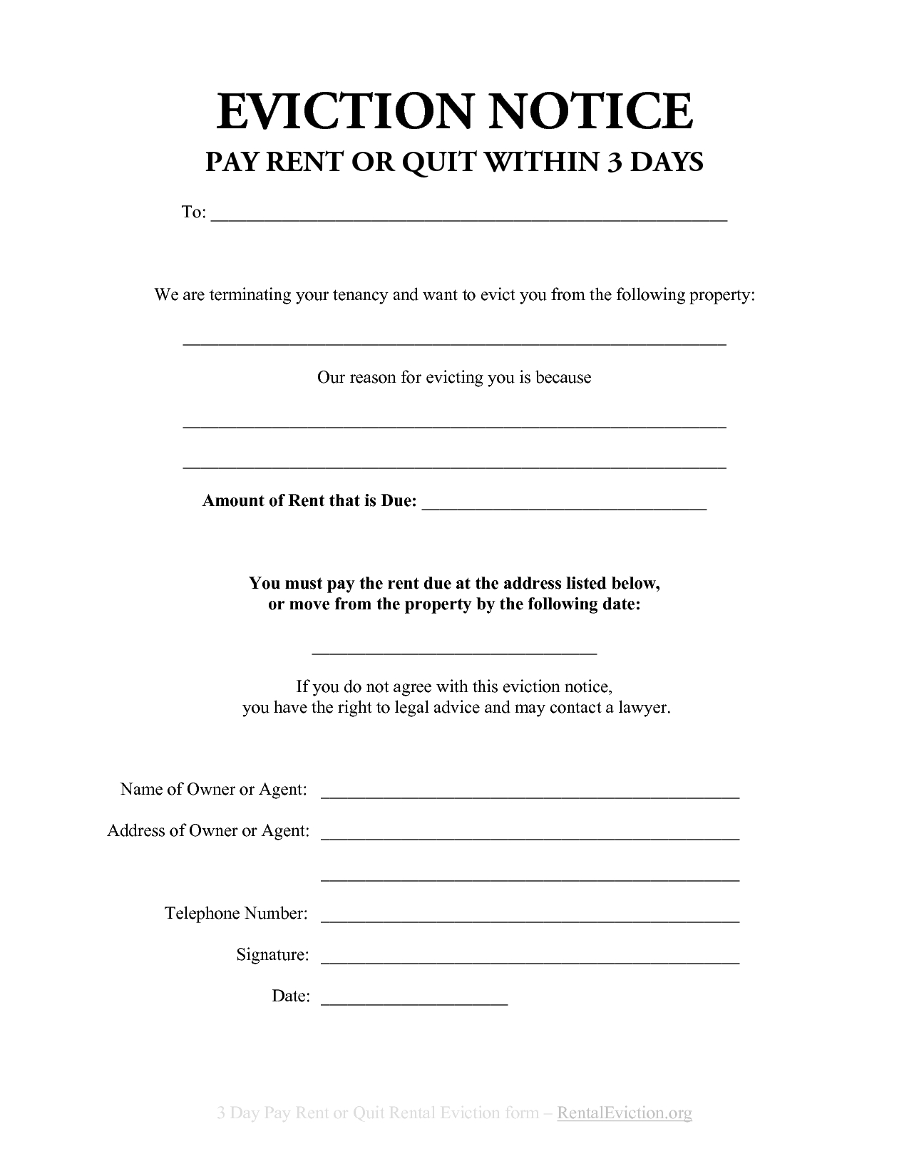 Eviction Letter Template Pdf - Unique Free Eviction Notice Template Inspiration Administrative