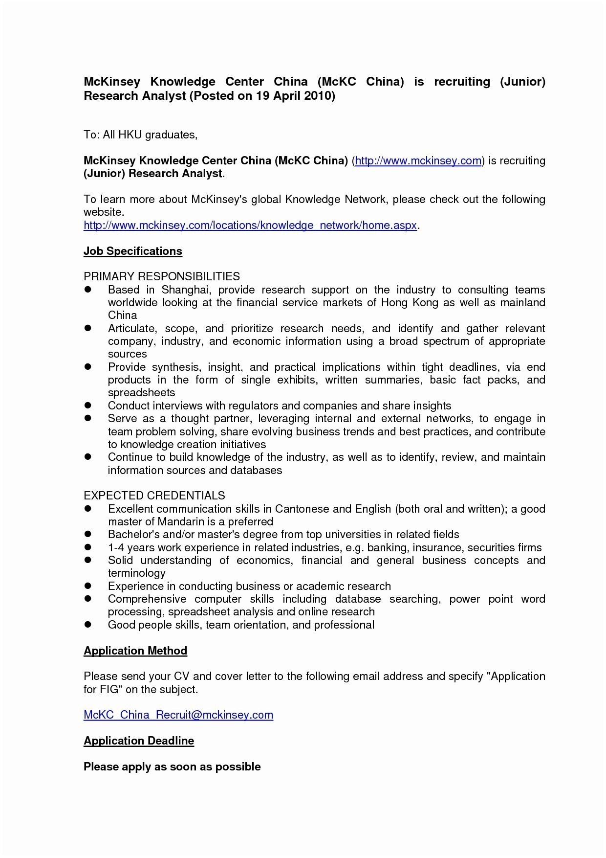Usa Jobs Cover Letter Template Collection | Letter Templates
